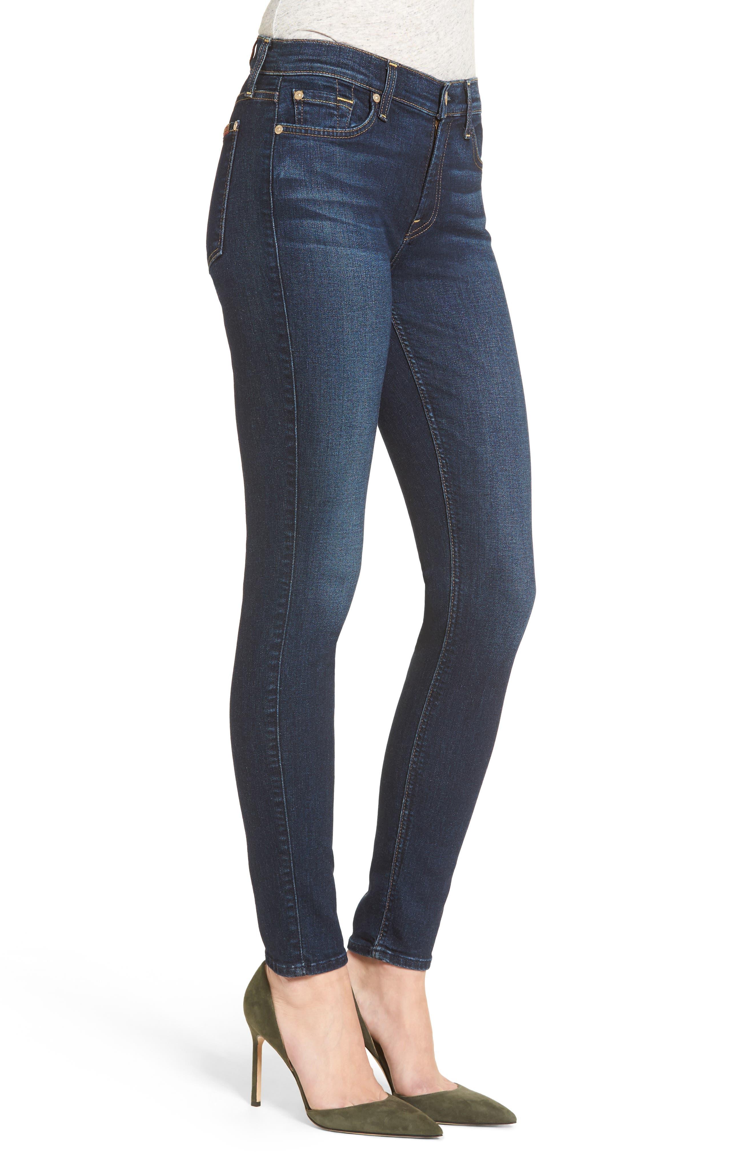 Skinny Jeans,                             Alternate thumbnail 3, color,                             401