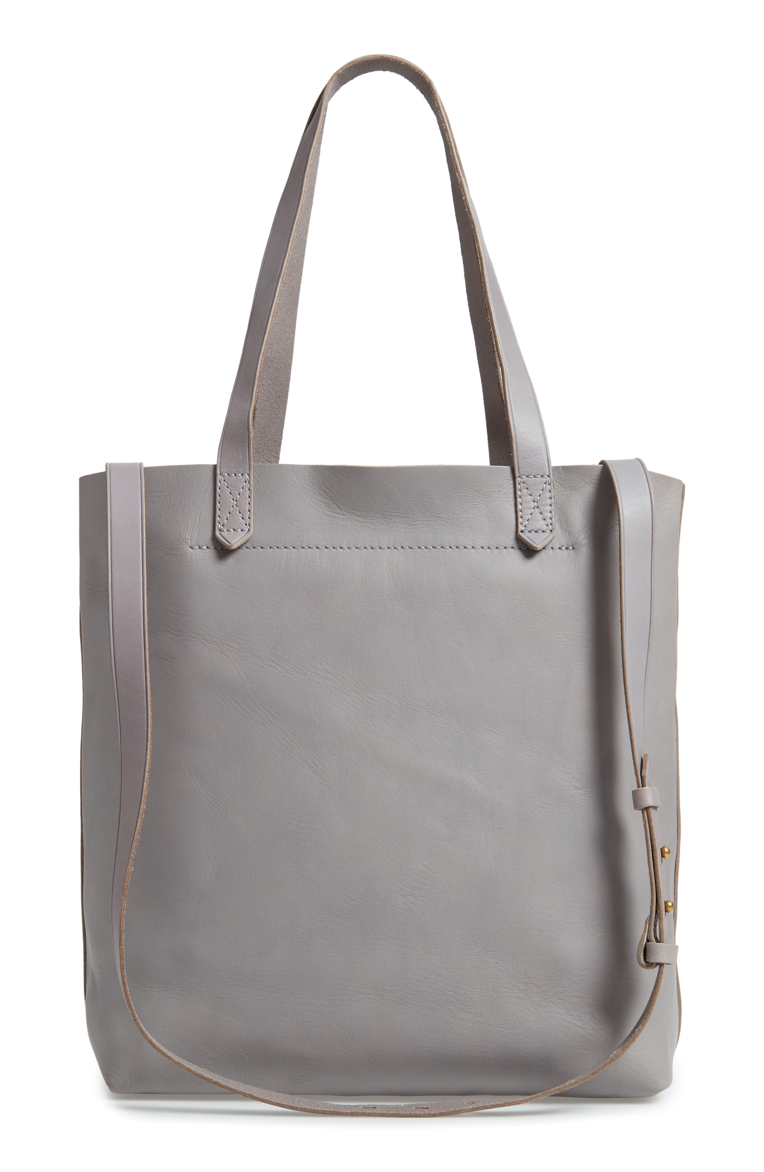 Medium Leather Transport Tote,                             Alternate thumbnail 34, color,