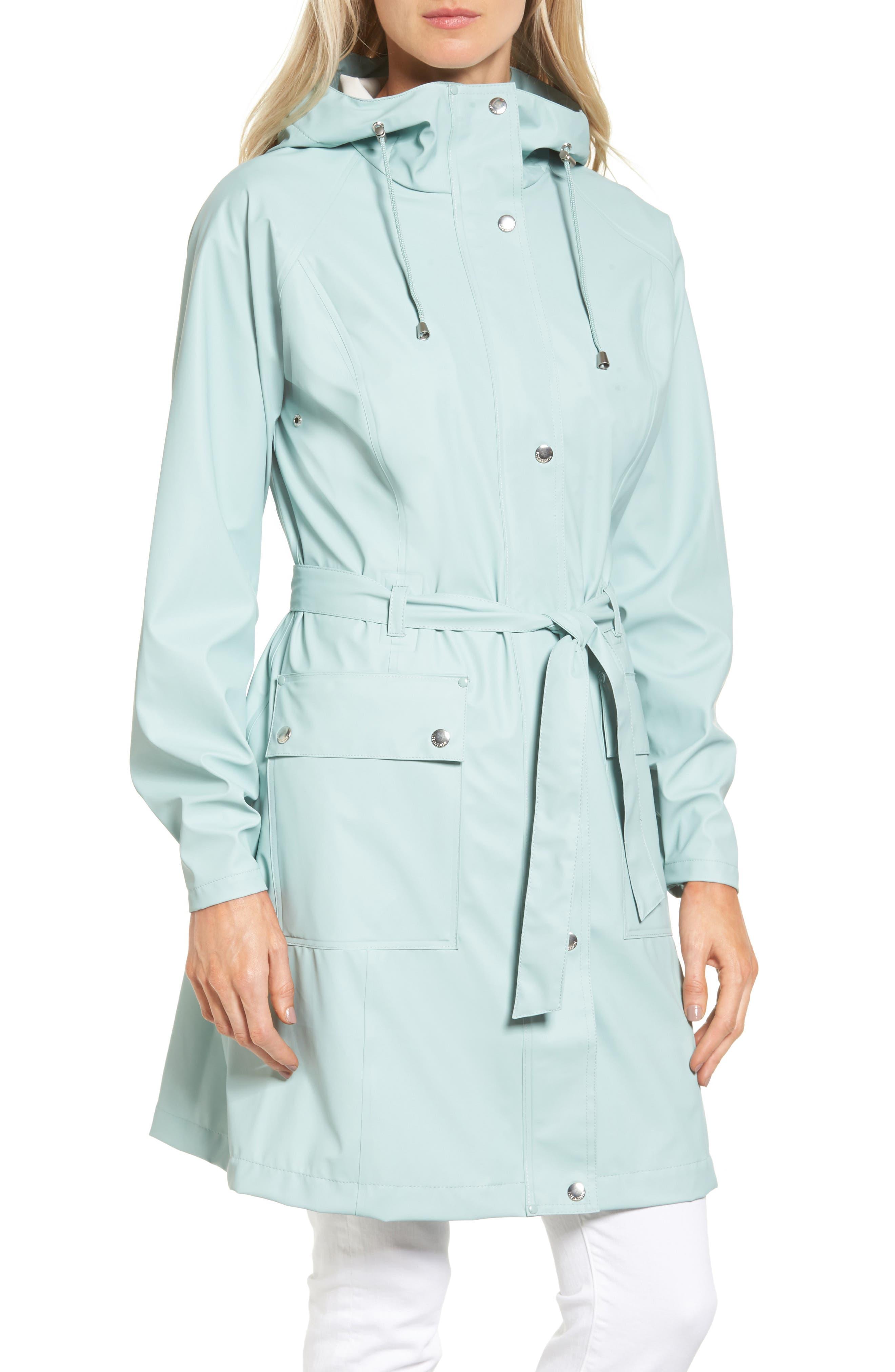 Hornbæk Hooded Raincoat,                             Alternate thumbnail 8, color,