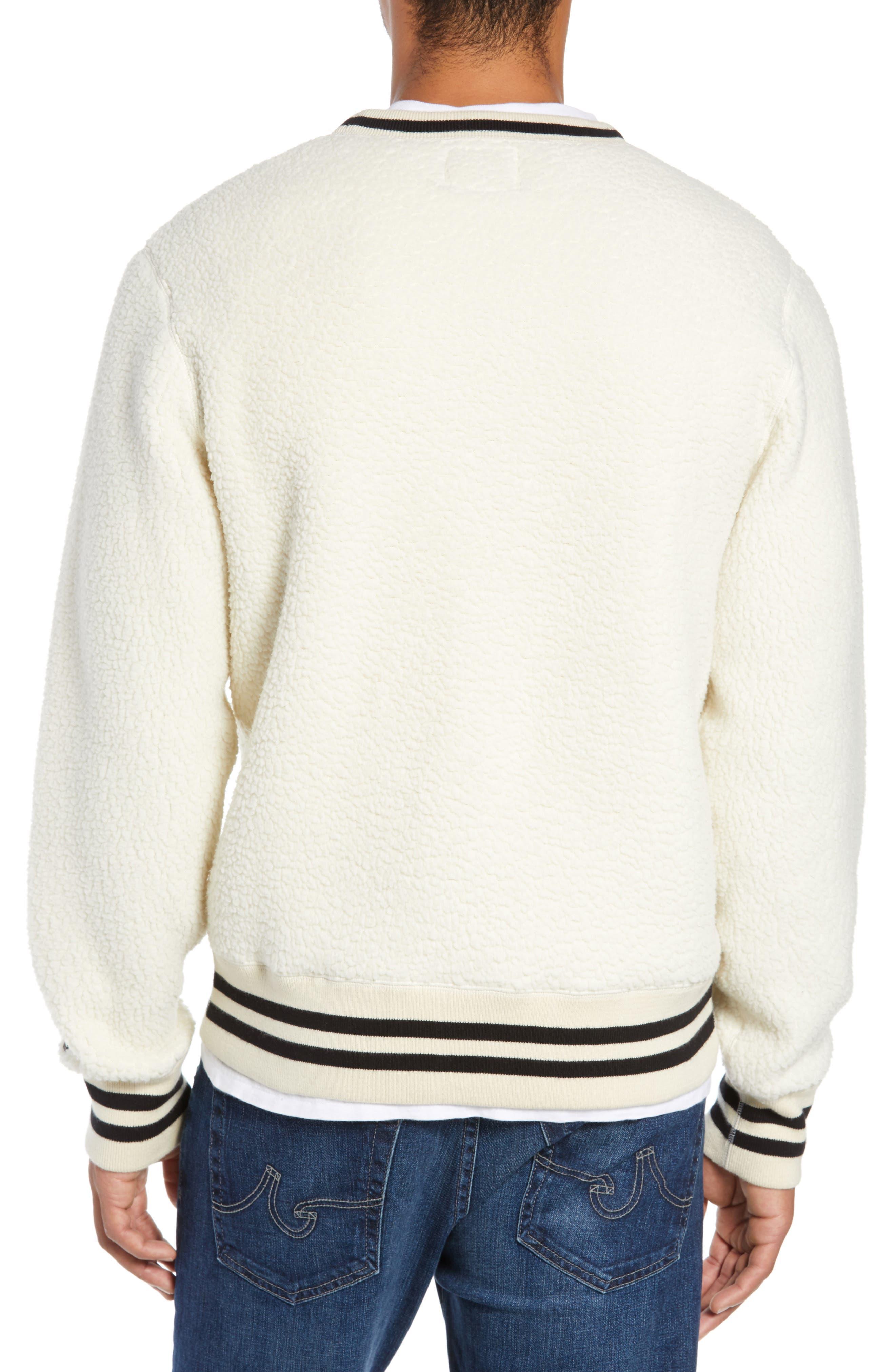 + Champion Fleece Crewneck Sweatshirt,                             Alternate thumbnail 2, color,                             900