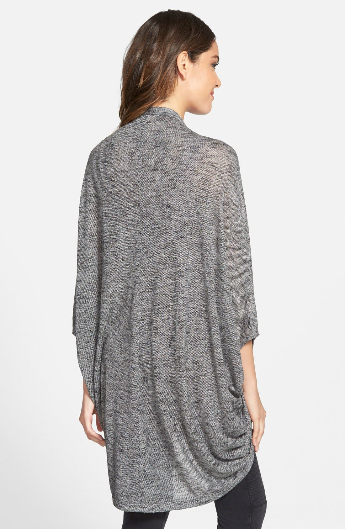 Lightweight Cocoon Cardigan,                             Alternate thumbnail 2, color,                             001