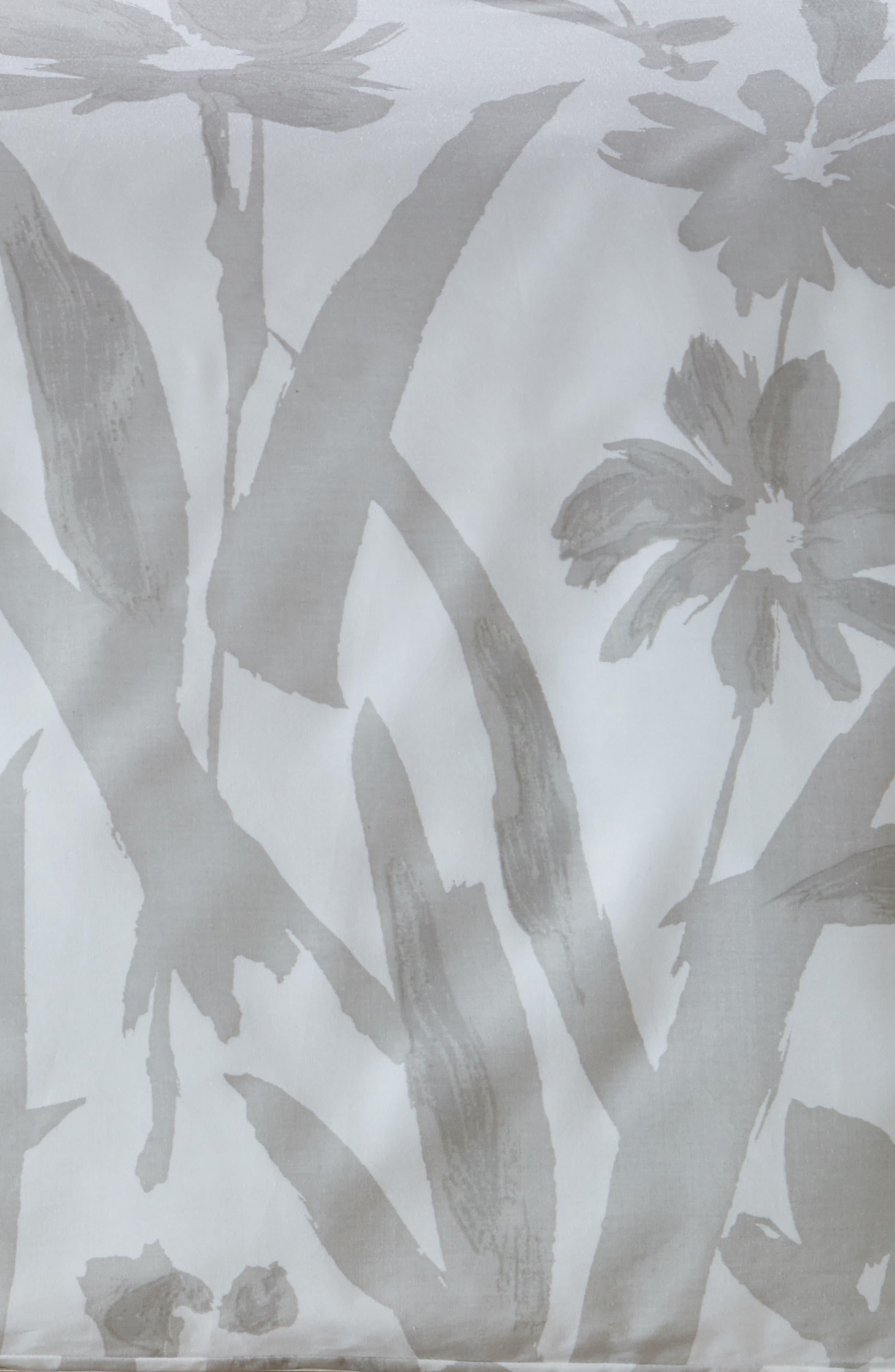 brushstroke garden duvet cover & sham set,                             Alternate thumbnail 2, color,