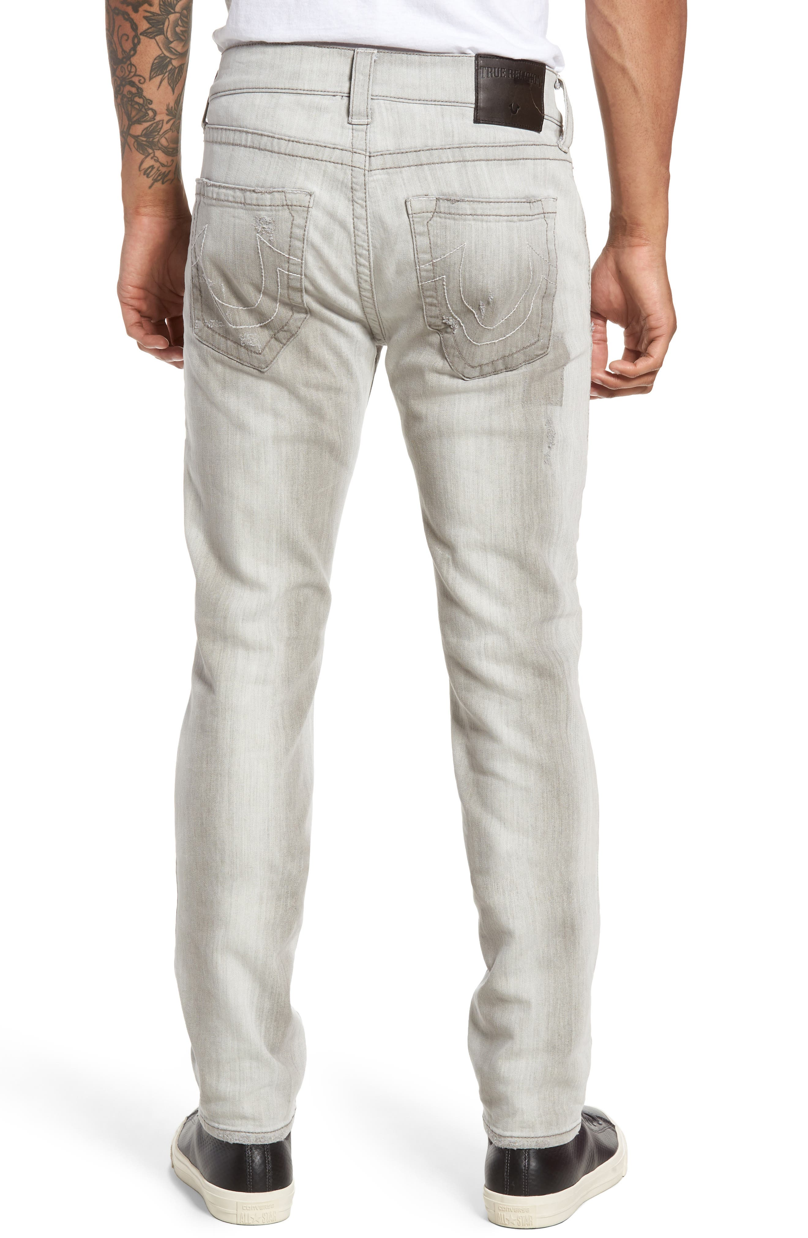 Rocco Skinny Fit Jeans,                             Alternate thumbnail 2, color,                             406