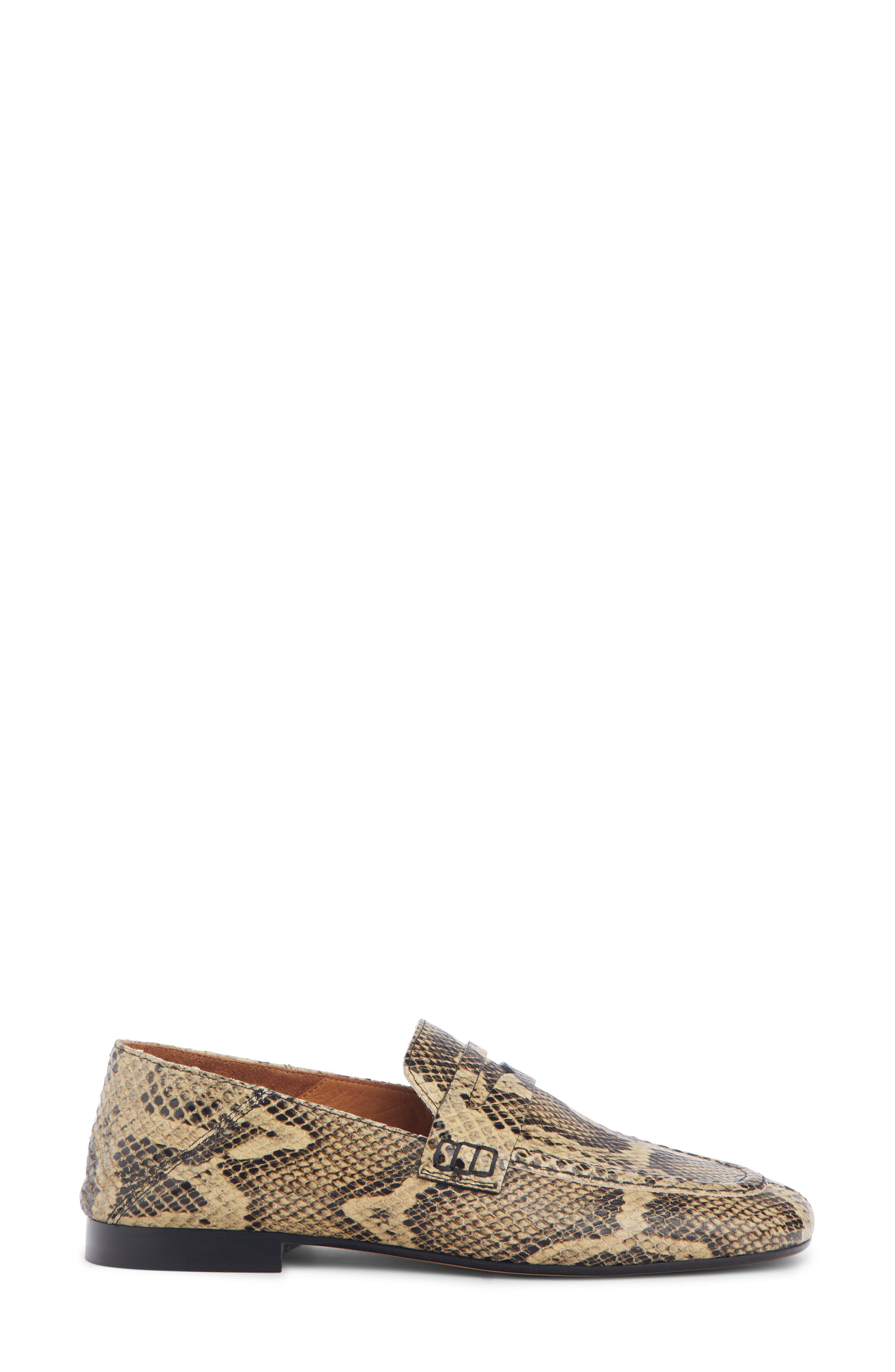 Fezzy Snakeskin Embossed Convertible Loafer,                             Alternate thumbnail 2, color,                             NATURAL EXOTIC