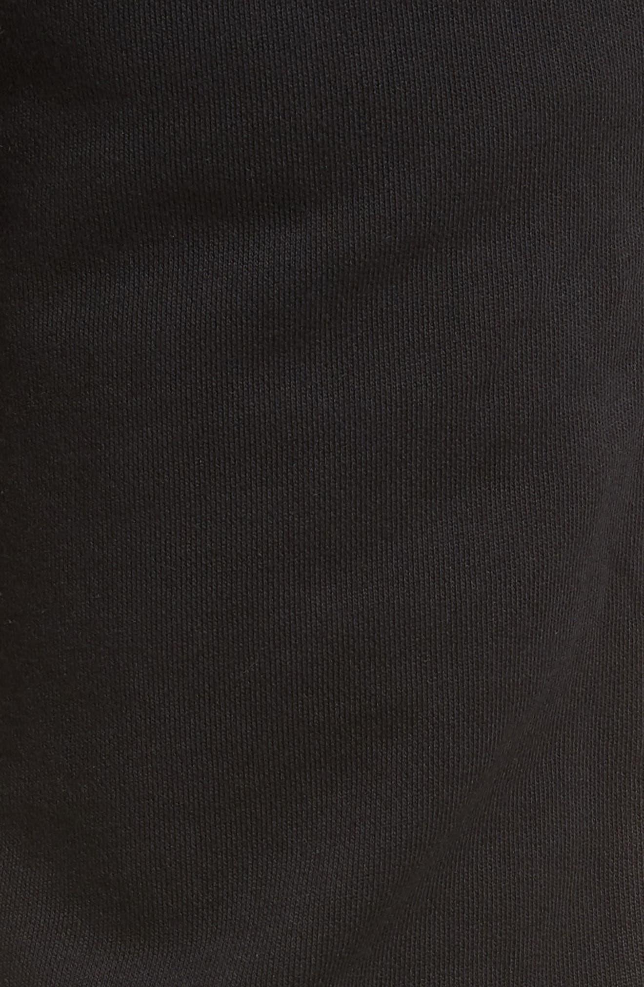 Jumpshot Slim Track Pants,                             Alternate thumbnail 5, color,                             BLACK/ BISCUIT
