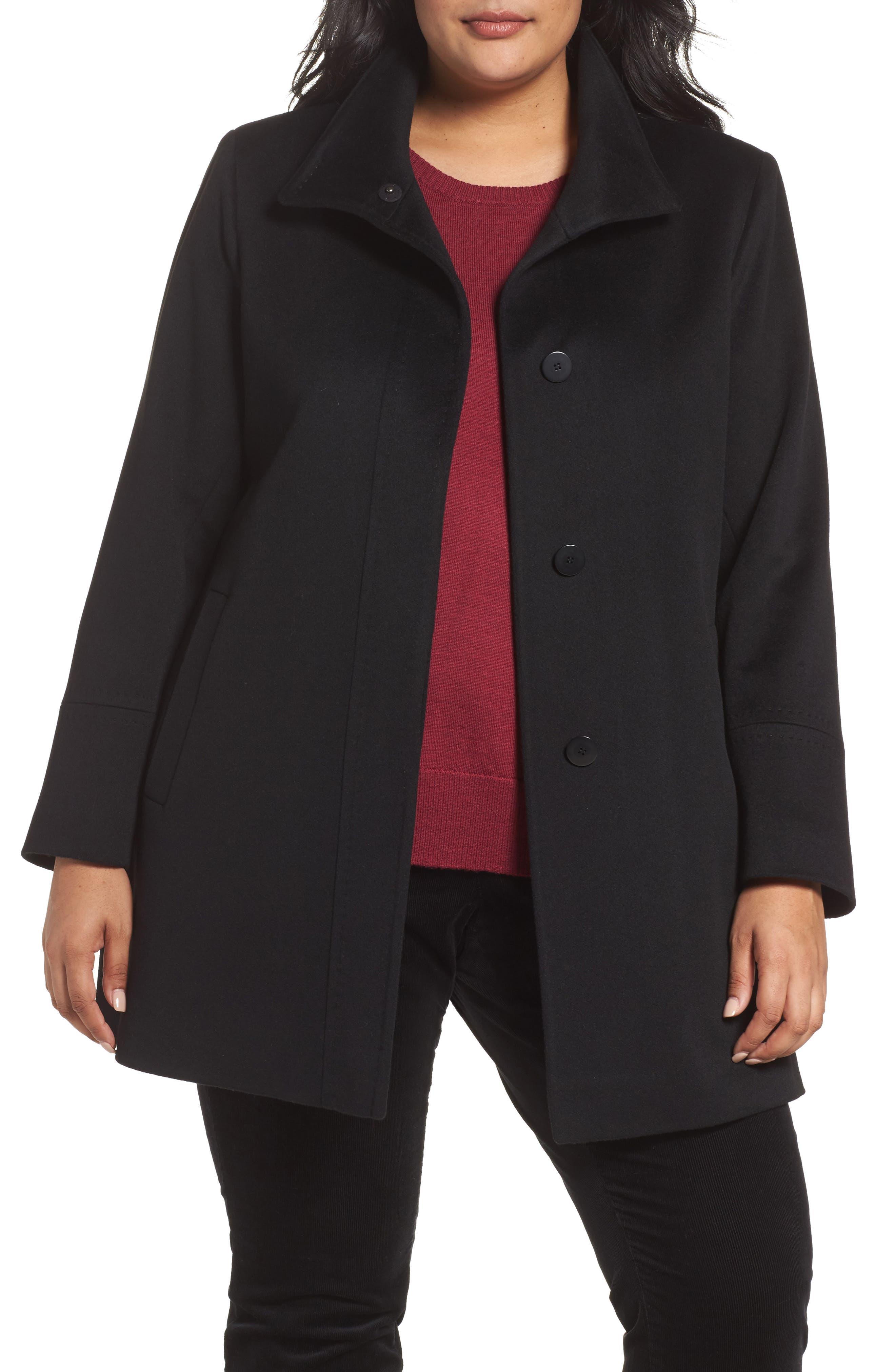 Wool Car Coat,                             Main thumbnail 1, color,