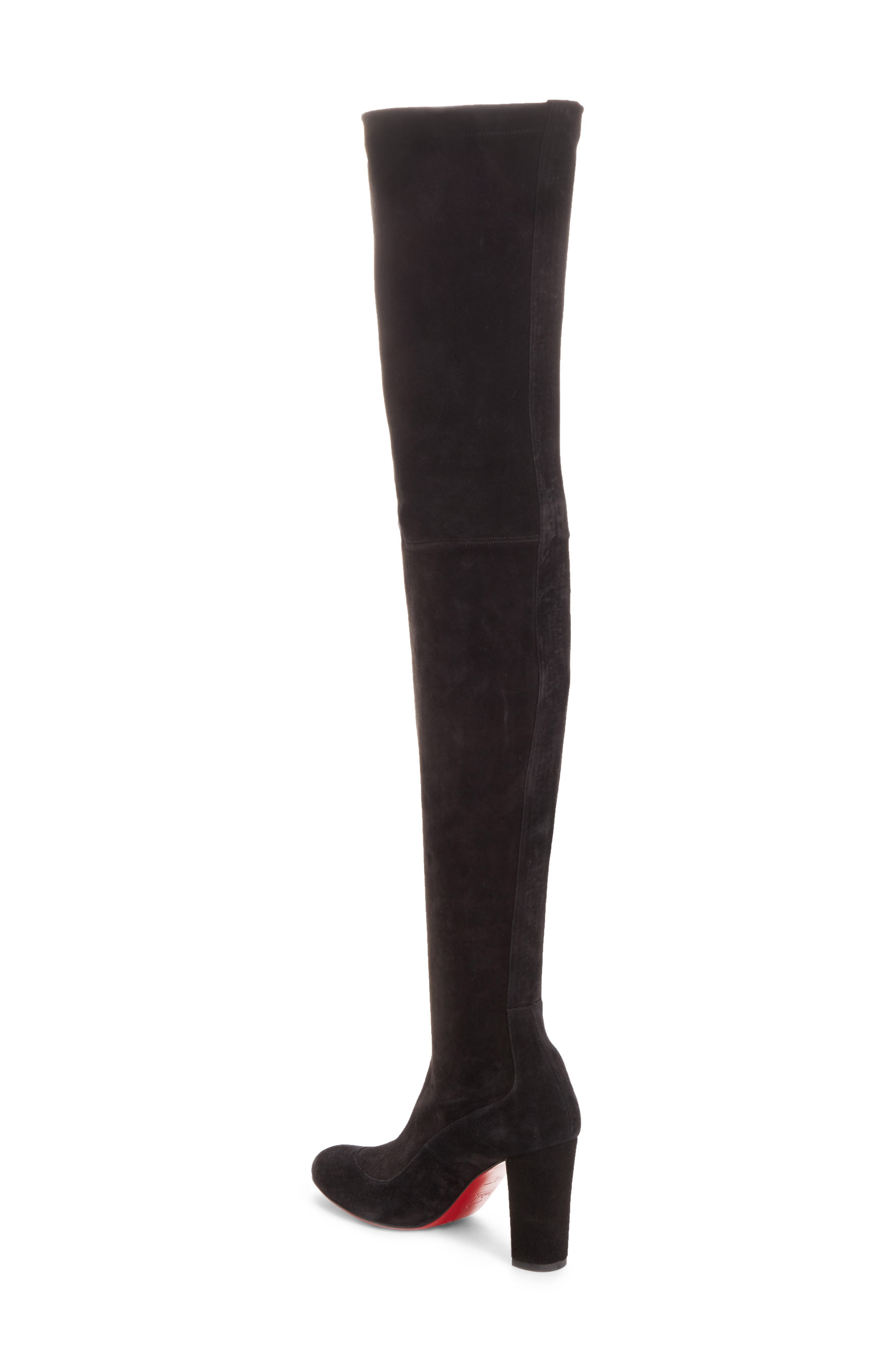 Kiss Me Gena Over the Knee Boot,                             Alternate thumbnail 2, color,                             BLACK