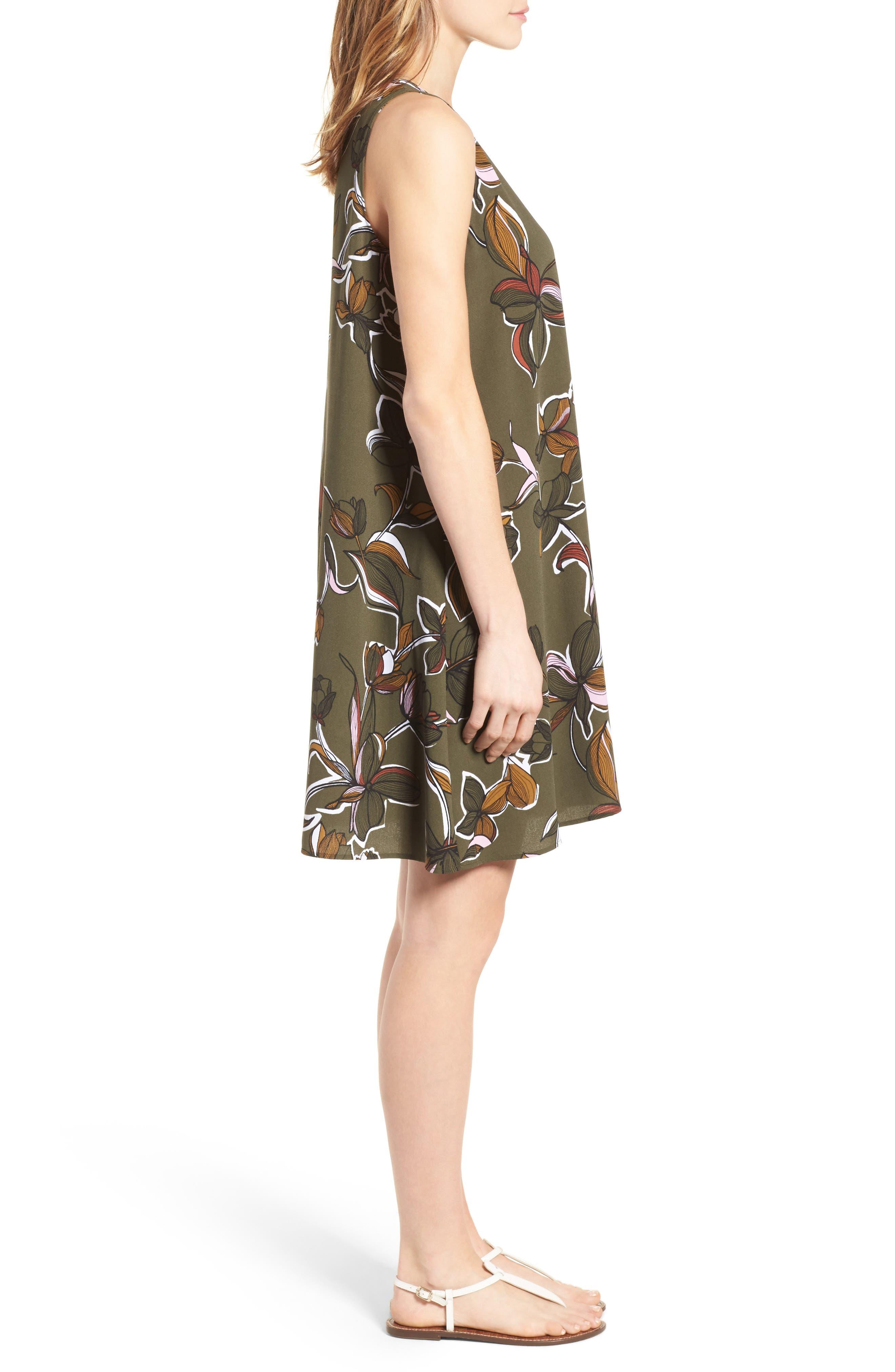 A-Line Dress,                             Alternate thumbnail 77, color,