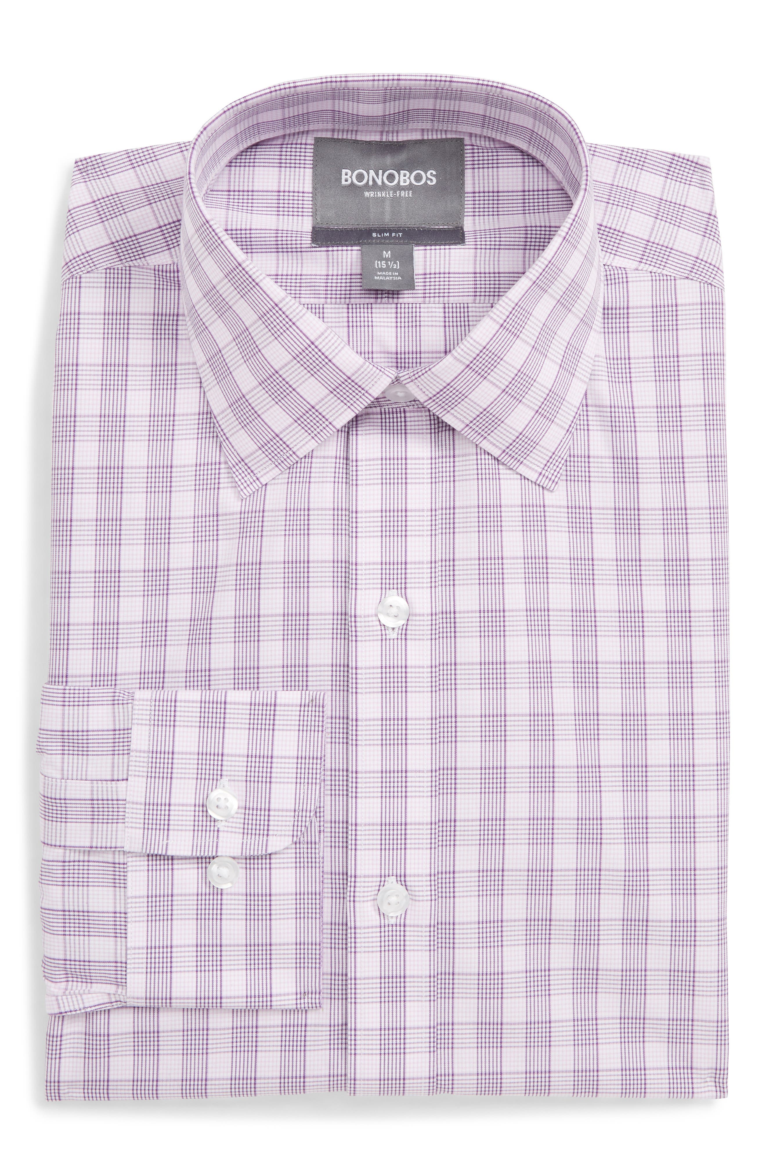Bonobos Slim Fit Wrinkle-Free Cotton Dress Shirt