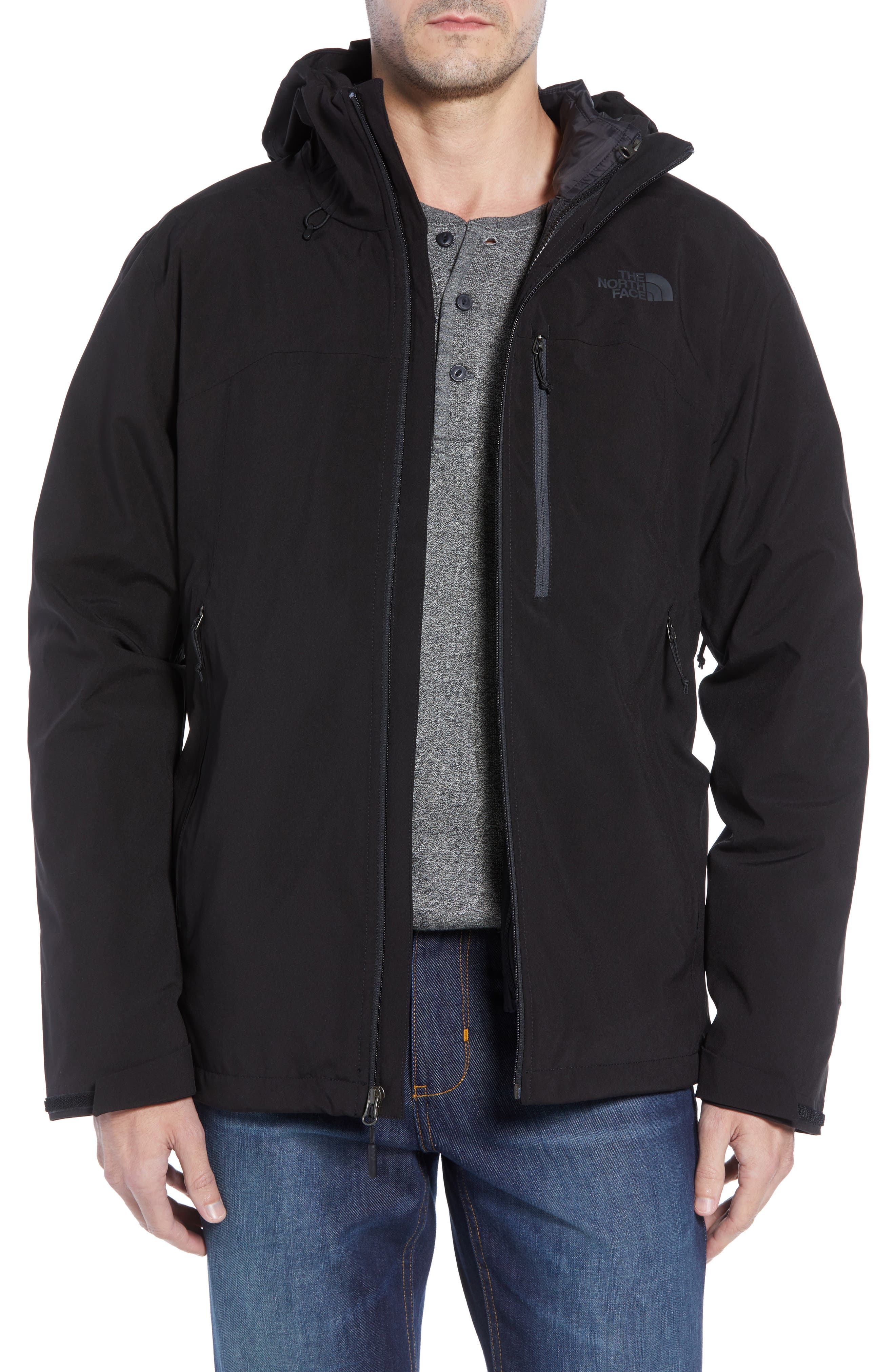 ThermoBall TriClimate<sup>®</sup> 3-in-1 Jacket,                             Main thumbnail 1, color,                             TNF BLACK/TNF BLACK