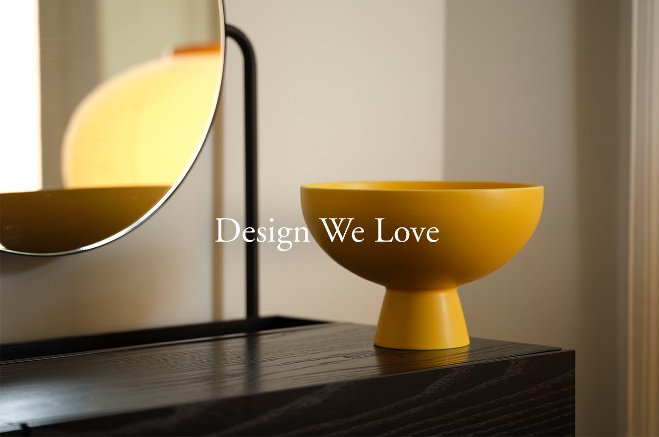 Design We Love: a sculptural yellow bowl.