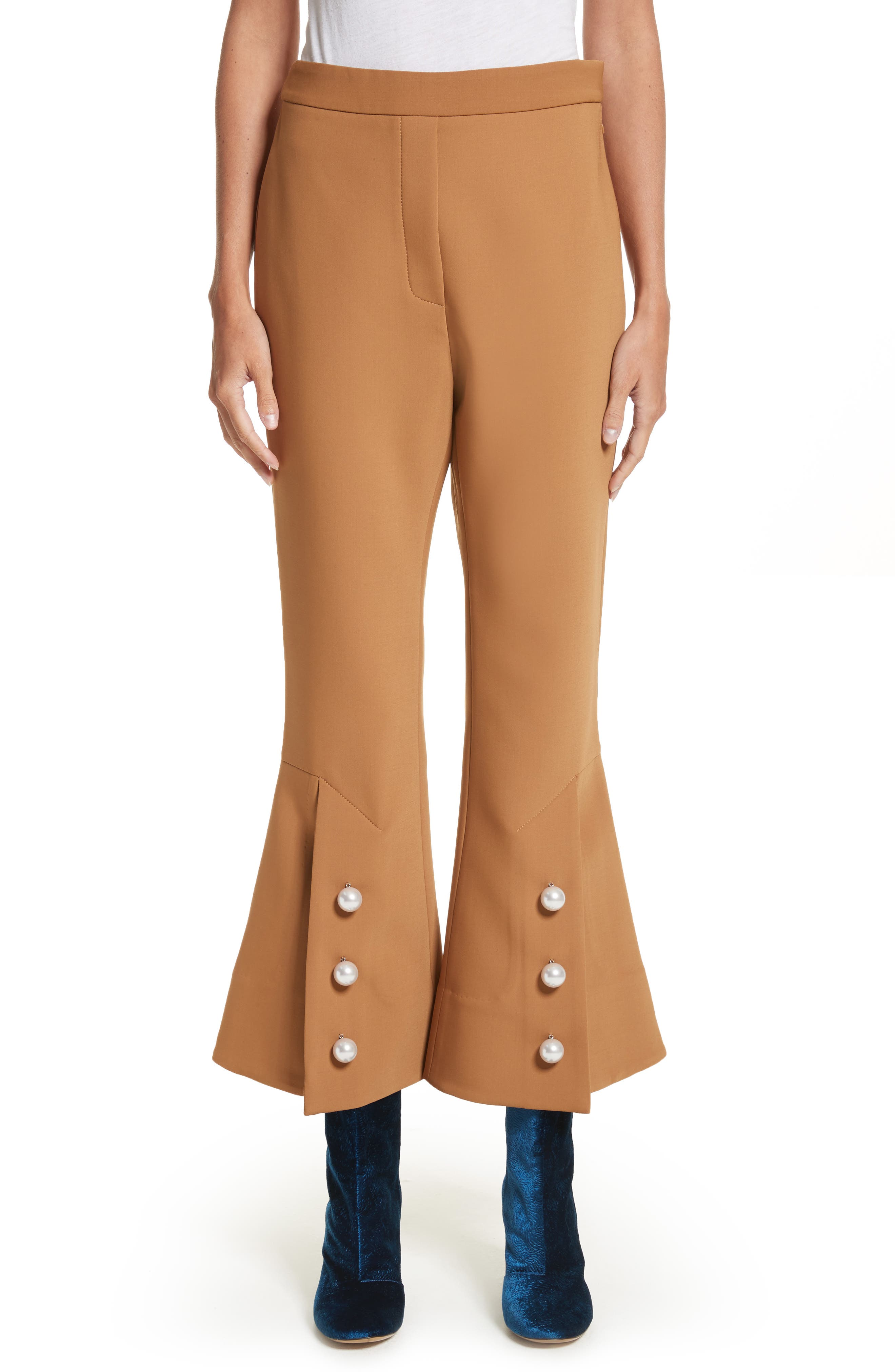 Fourth Element Crop Flare Pants,                         Main,                         color, 250