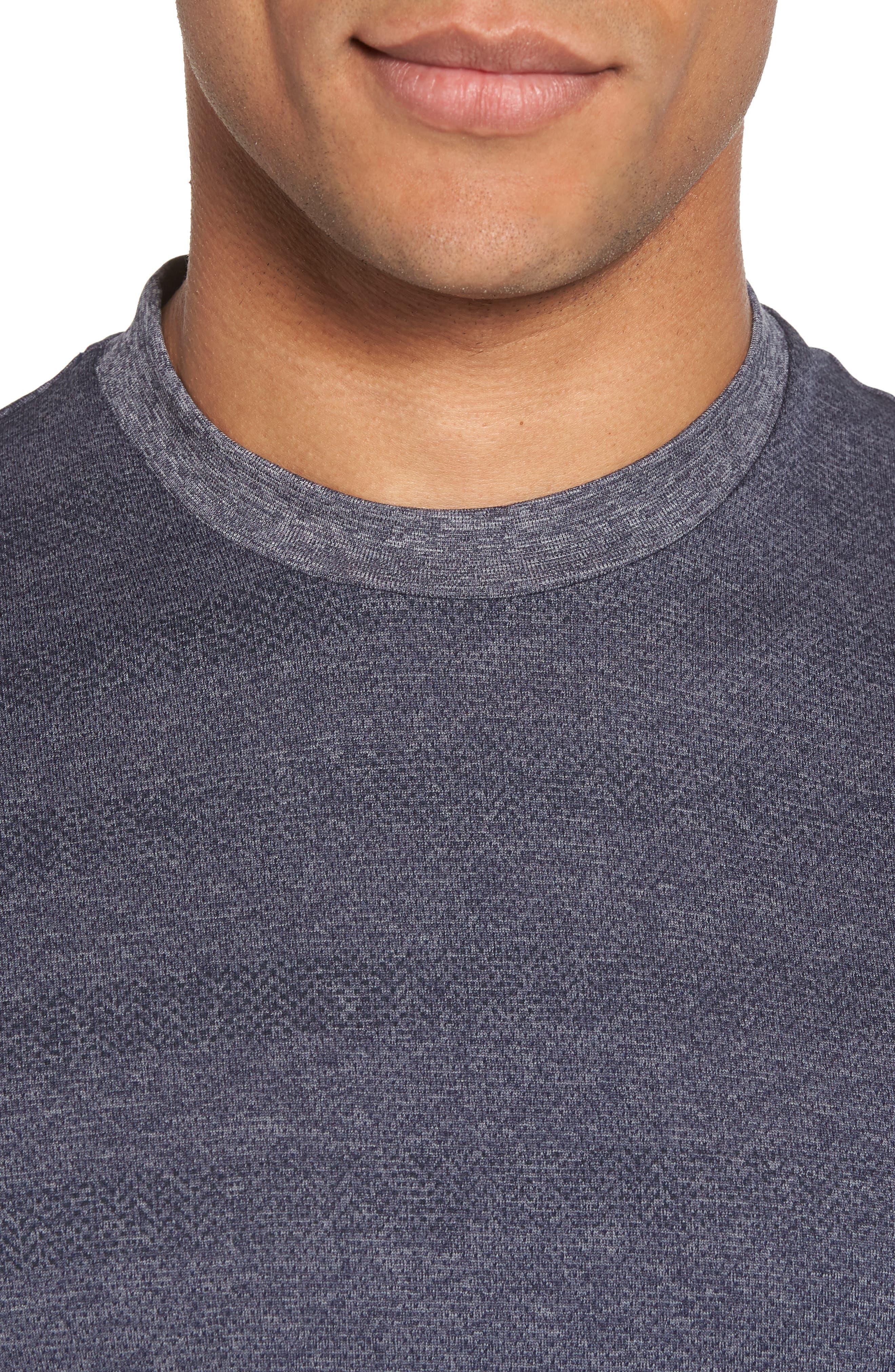 Upshift T-Shirt,                             Alternate thumbnail 4, color,                             HEATHER GRIFFIN