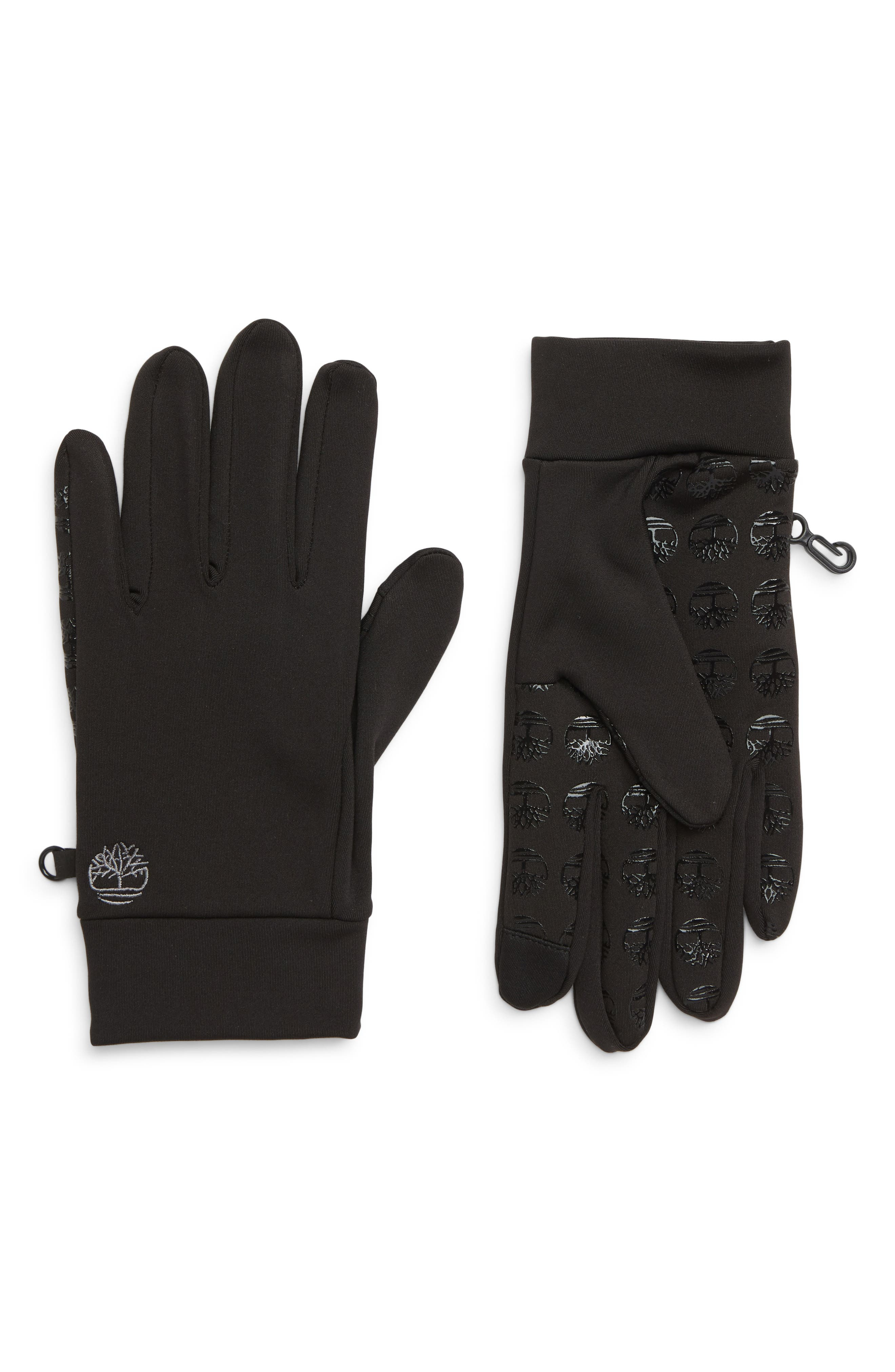 Soft Shell Gloves,                             Main thumbnail 1, color,                             BLACK
