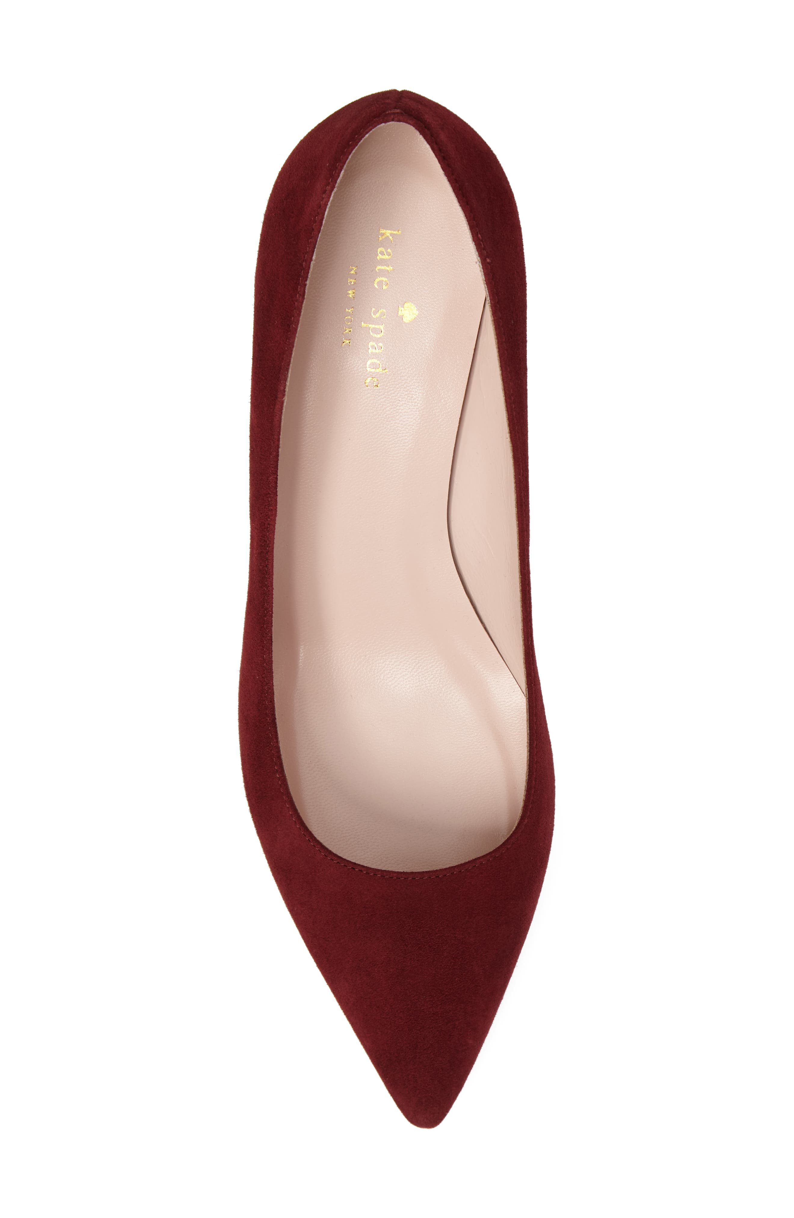 'milan too' pointy toe pump,                             Alternate thumbnail 5, color,                             620