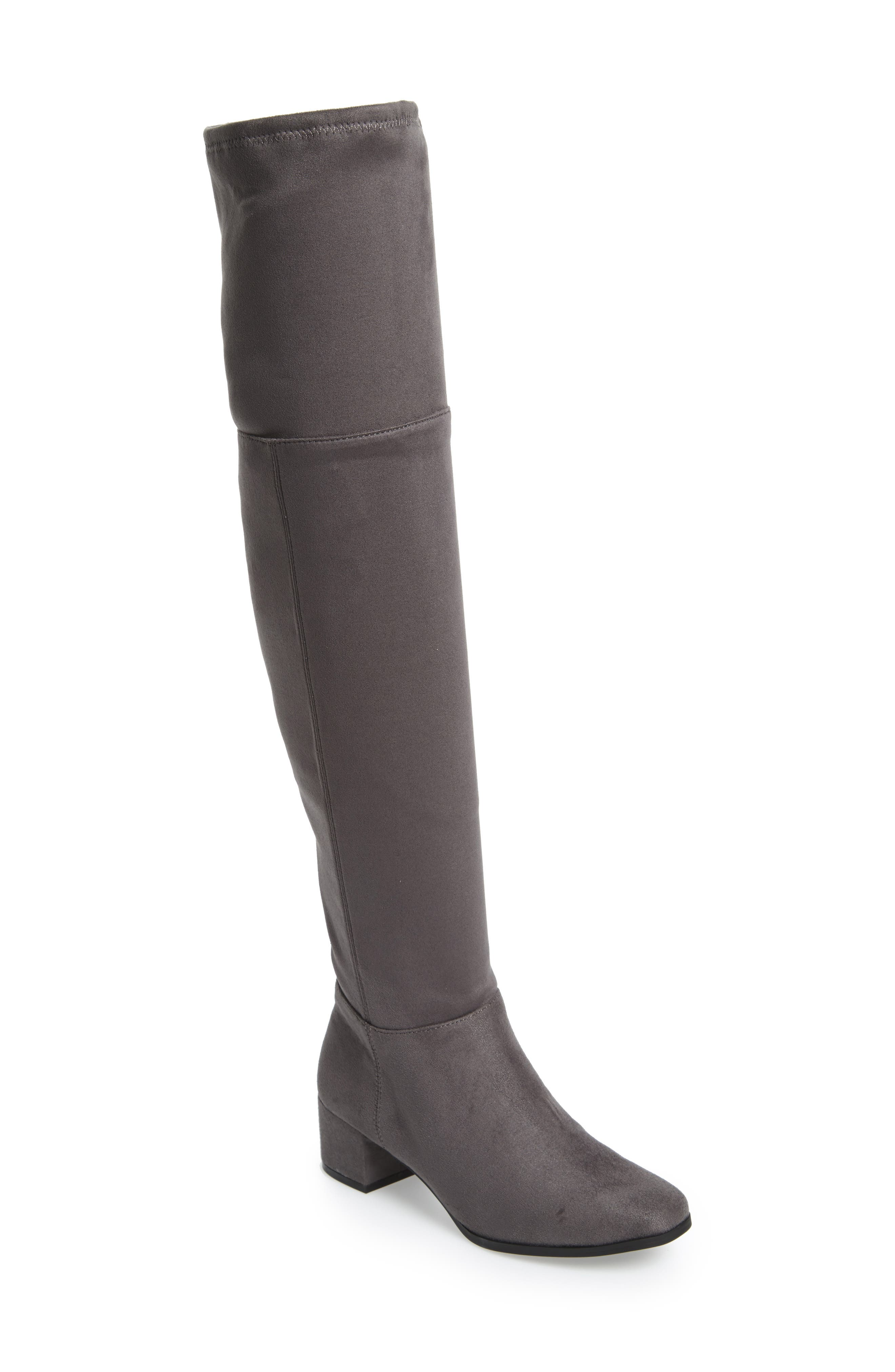 Festive Over the Knee Boot,                             Main thumbnail 2, color,