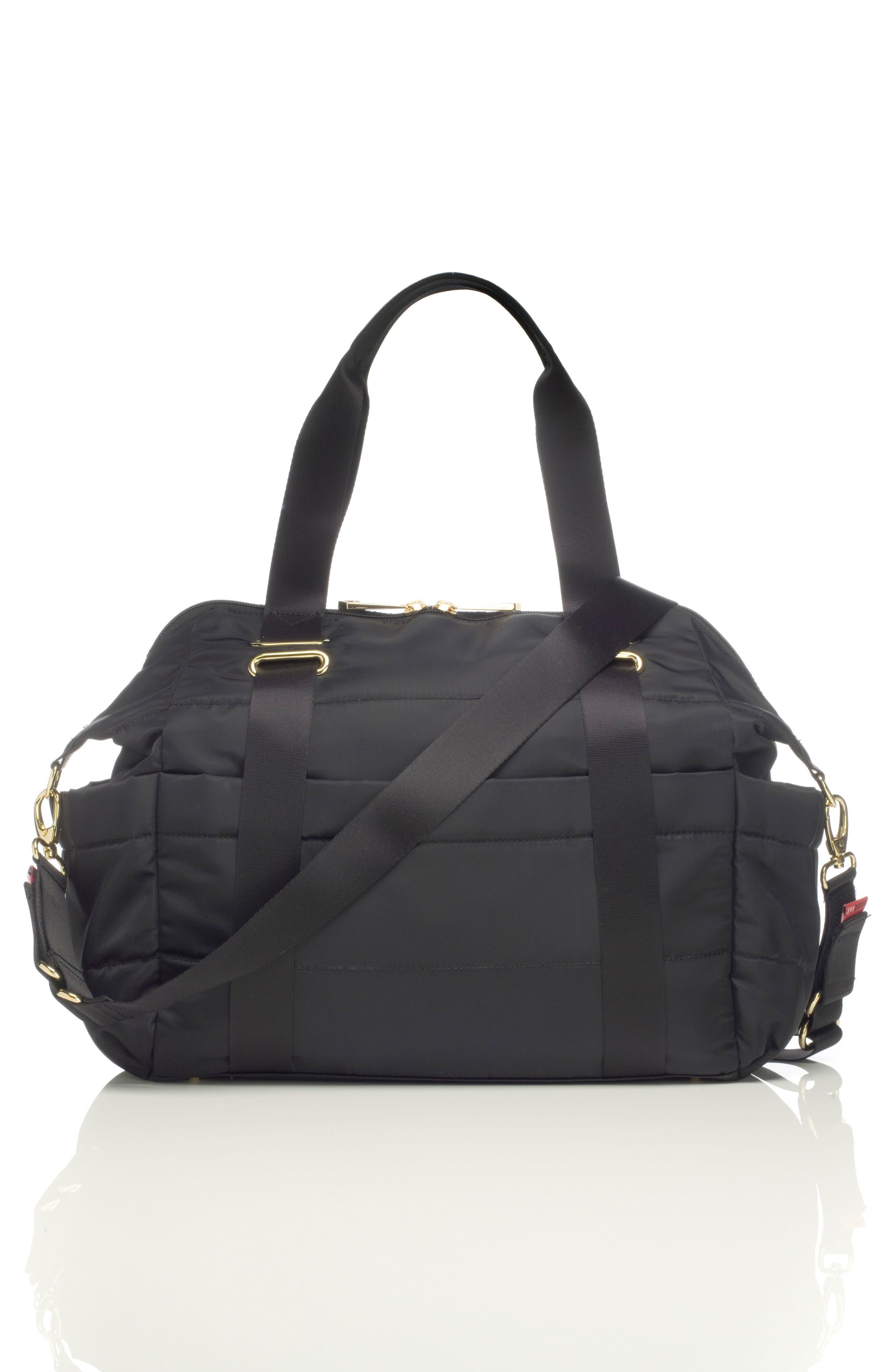 'Sandy' Diaper Bag,                             Alternate thumbnail 2, color,                             BLACK