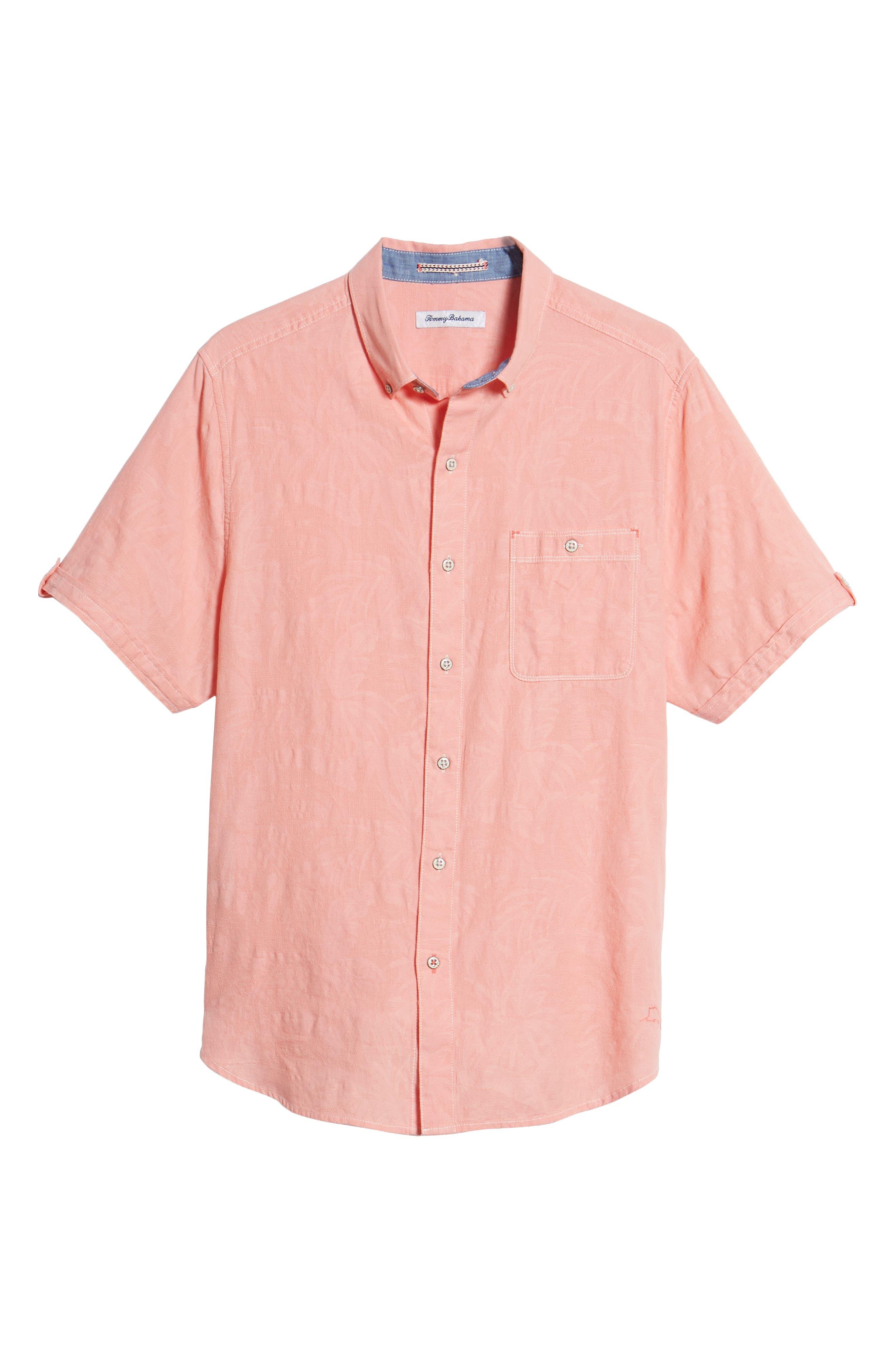 Desert Fronds Sport Shirt,                             Alternate thumbnail 29, color,