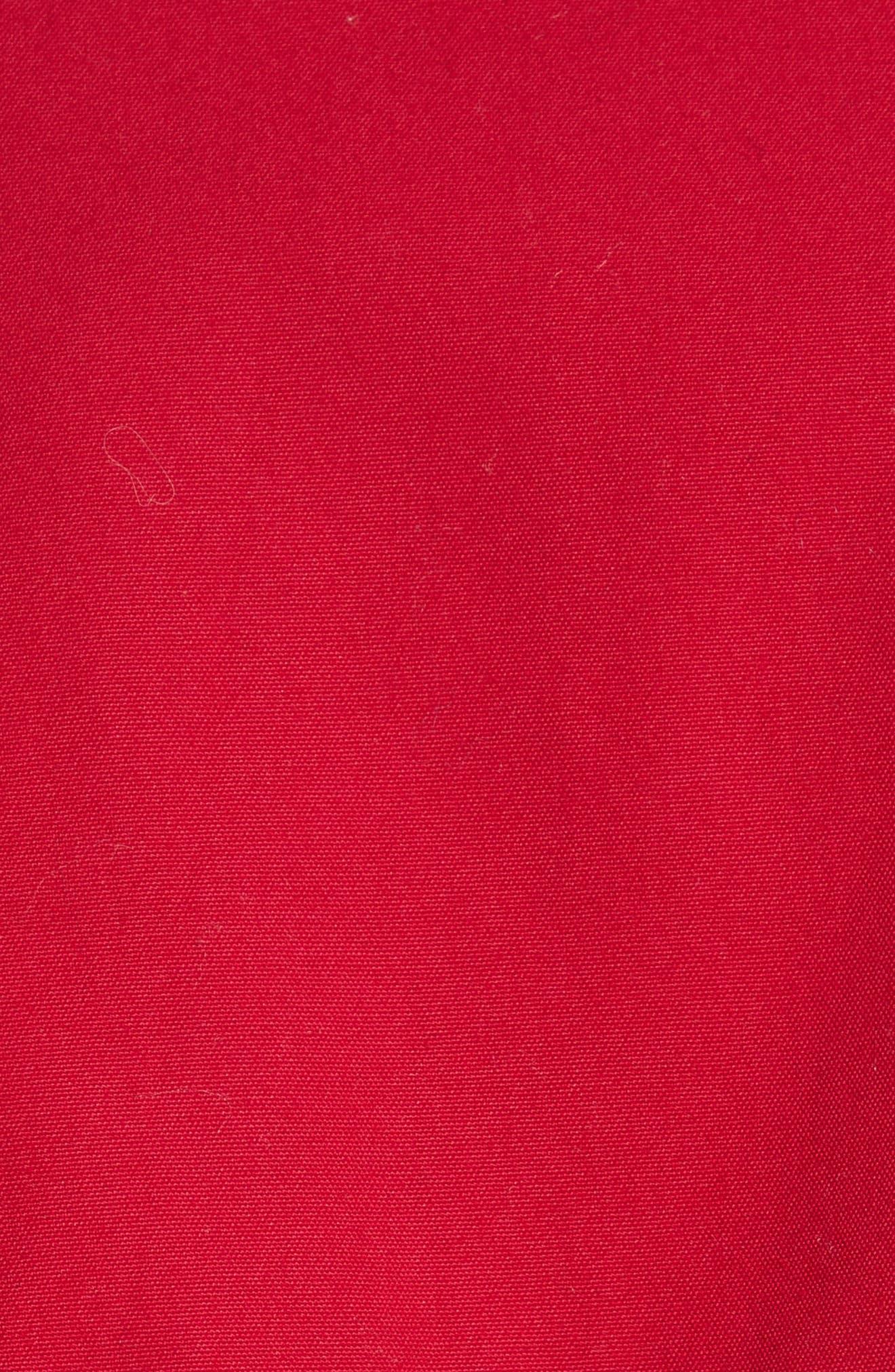 Shrunken Trench Coat,                             Alternate thumbnail 6, color,                             600