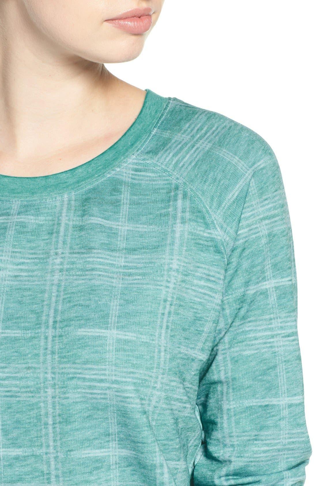 Burnout Lounge Sweatshirt,                             Alternate thumbnail 342, color,