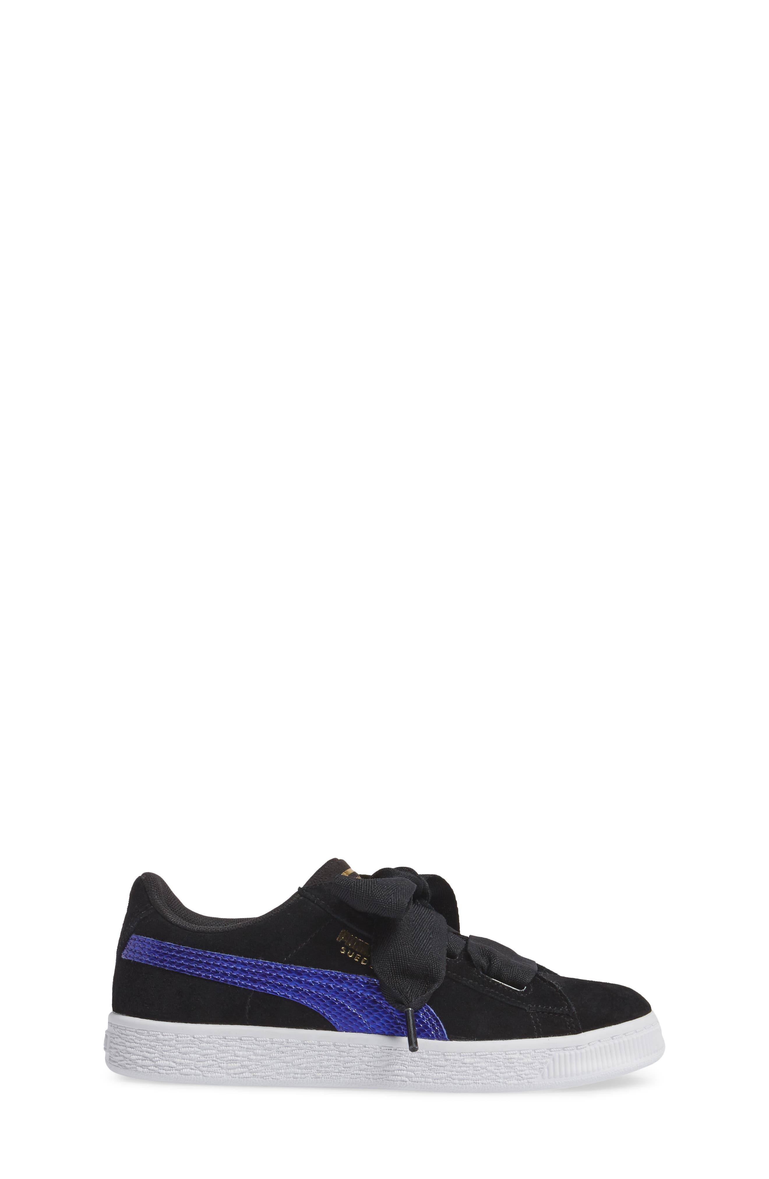 Basket Heart Sneaker,                             Alternate thumbnail 7, color,