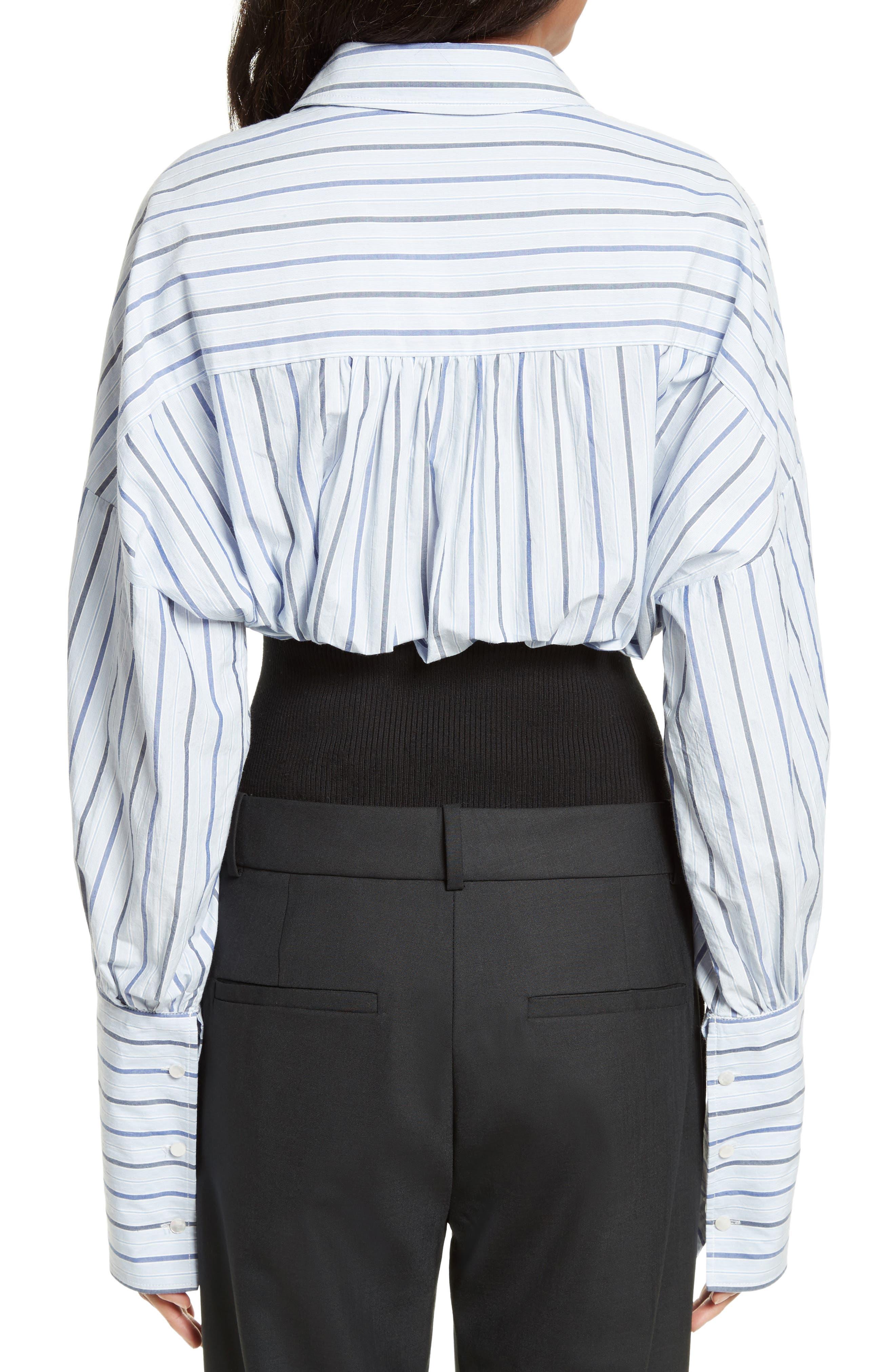 Garçon Stripe Easy Shirt,                             Alternate thumbnail 2, color,                             402