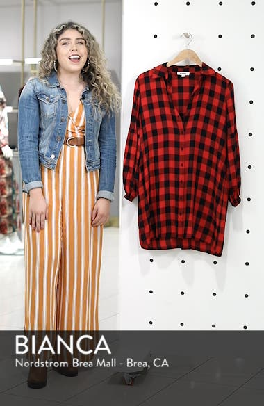 Buffalo Plaid Shirtdress, sales video thumbnail