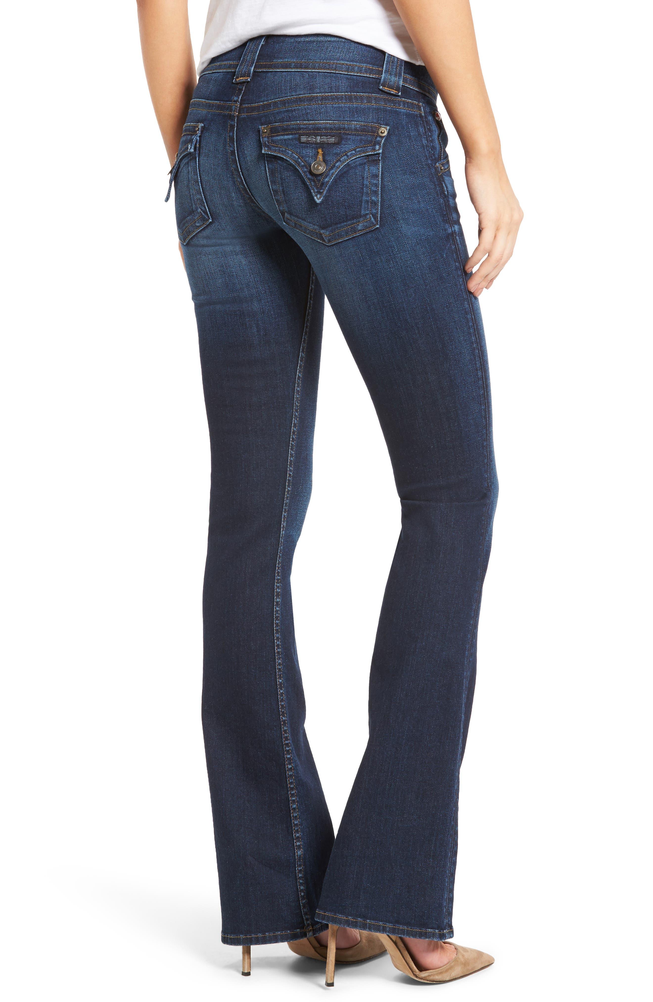 Signature Petite Bootcut Jeans,                             Alternate thumbnail 2, color,                             PATROL UNIT