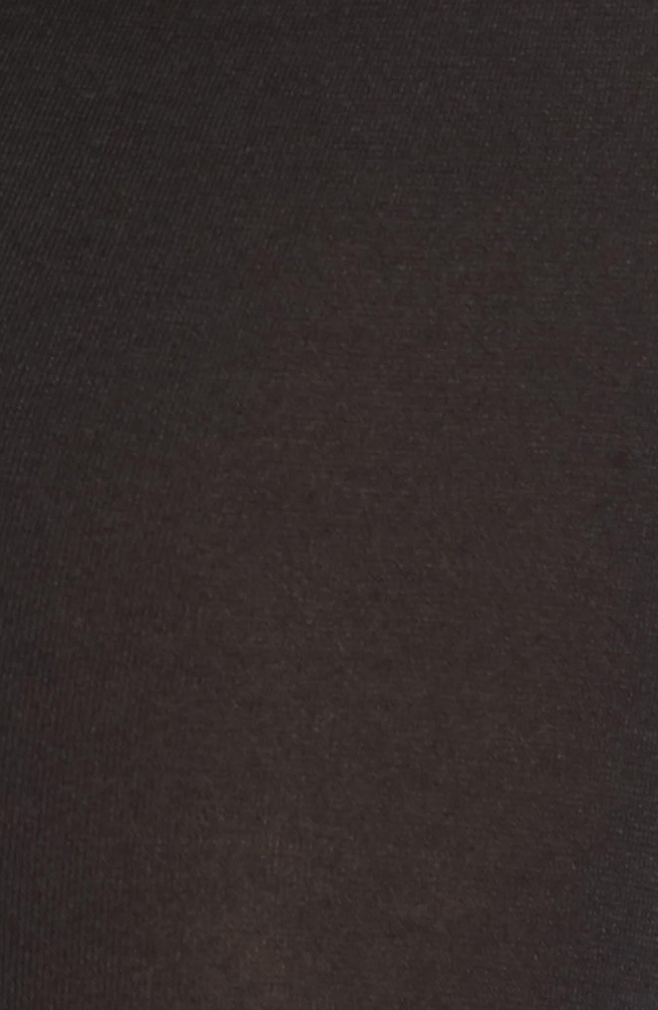 Tommy  John Sleek Heat Leggings,                             Alternate thumbnail 5, color,                             BLACK