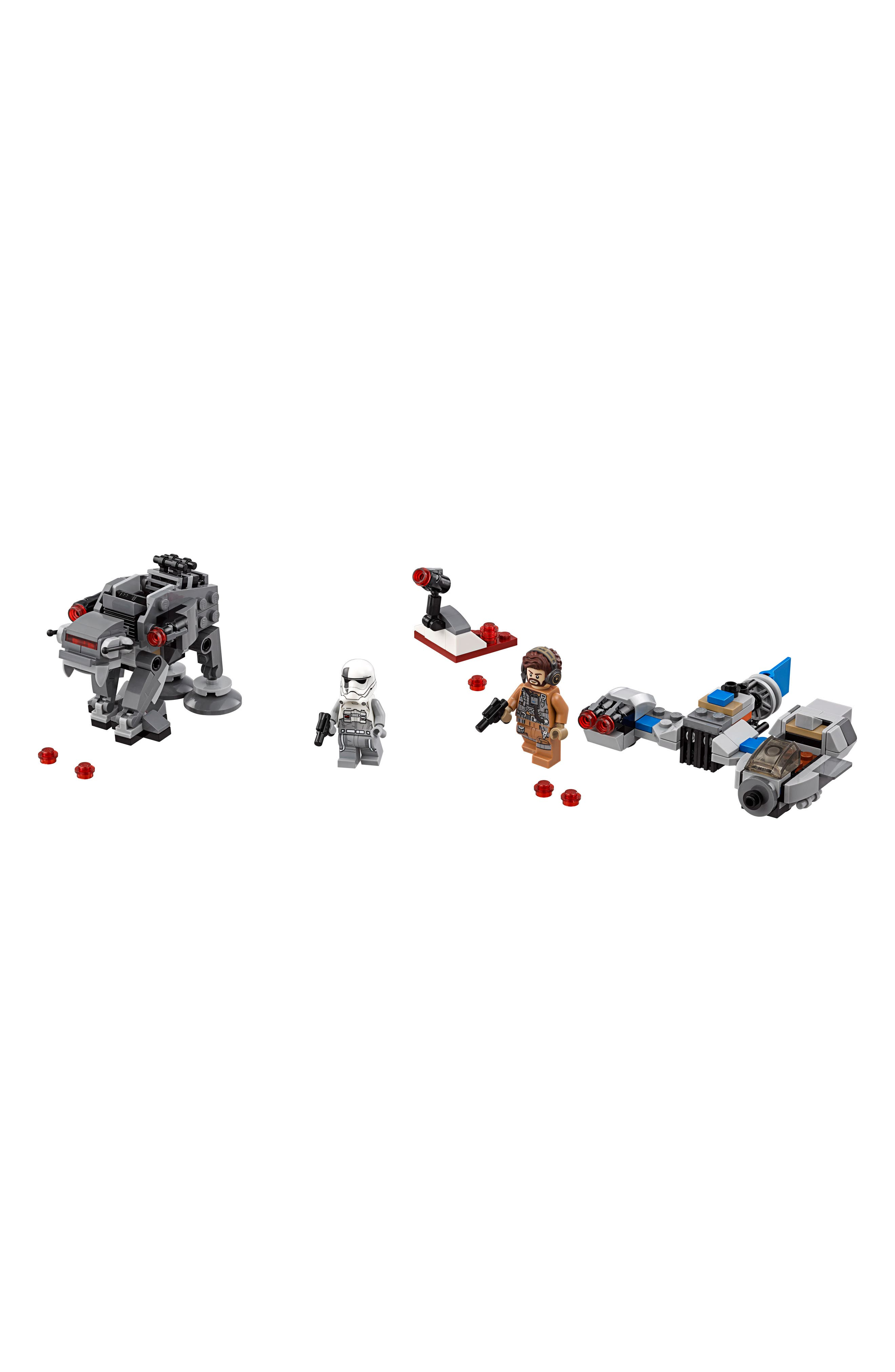 Star Wars<sup>™</sup> - Ski Speeder<sup>™</sup> vs. First Order Walker<sup>™</sup> Microfighters - 75195,                             Alternate thumbnail 2, color,                             MULTI