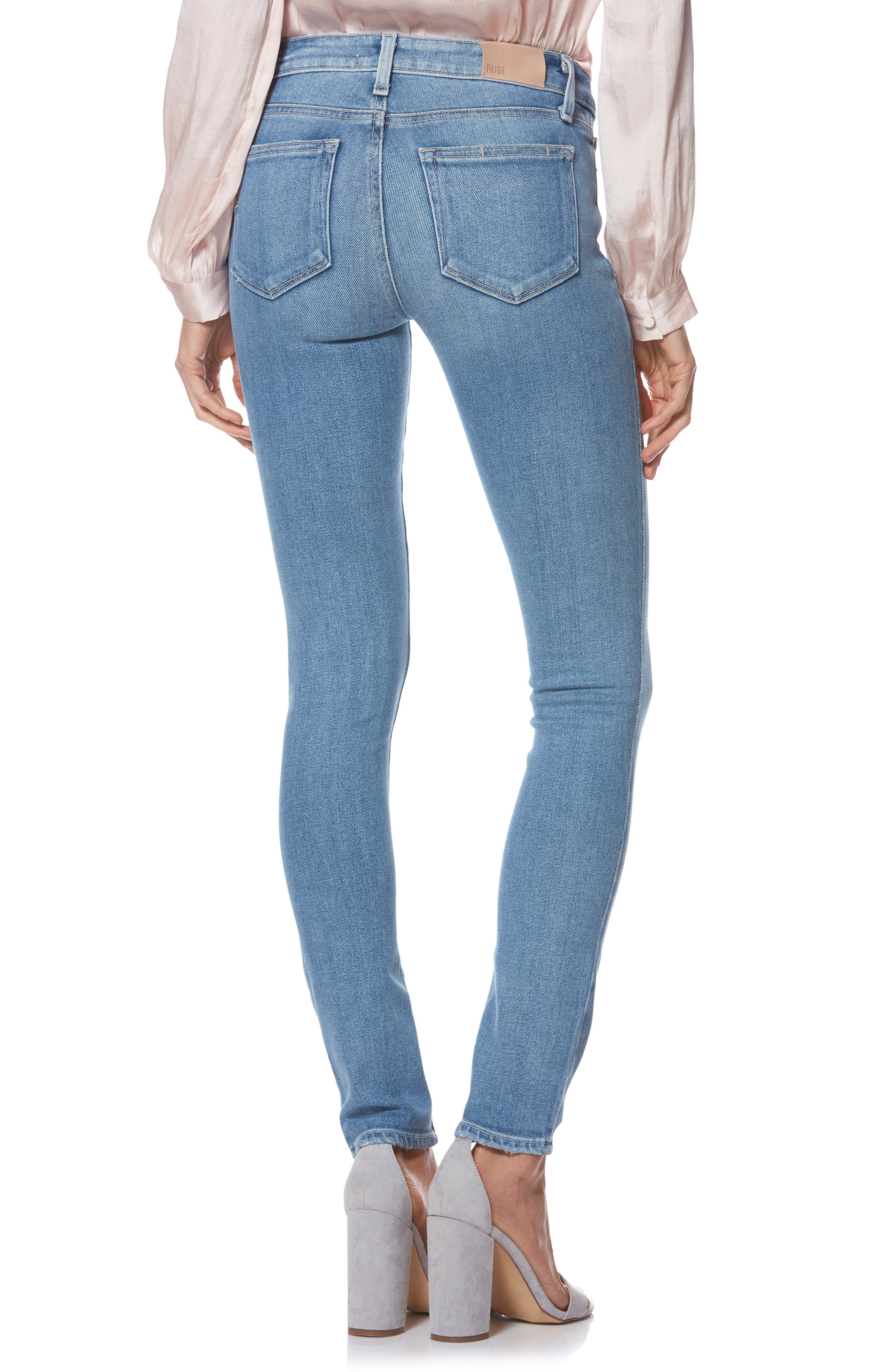 PAIGE,                             Verdugo Ultra Skinny Jeans,                             Alternate thumbnail 2, color,                             KAYSON DISTRESSED
