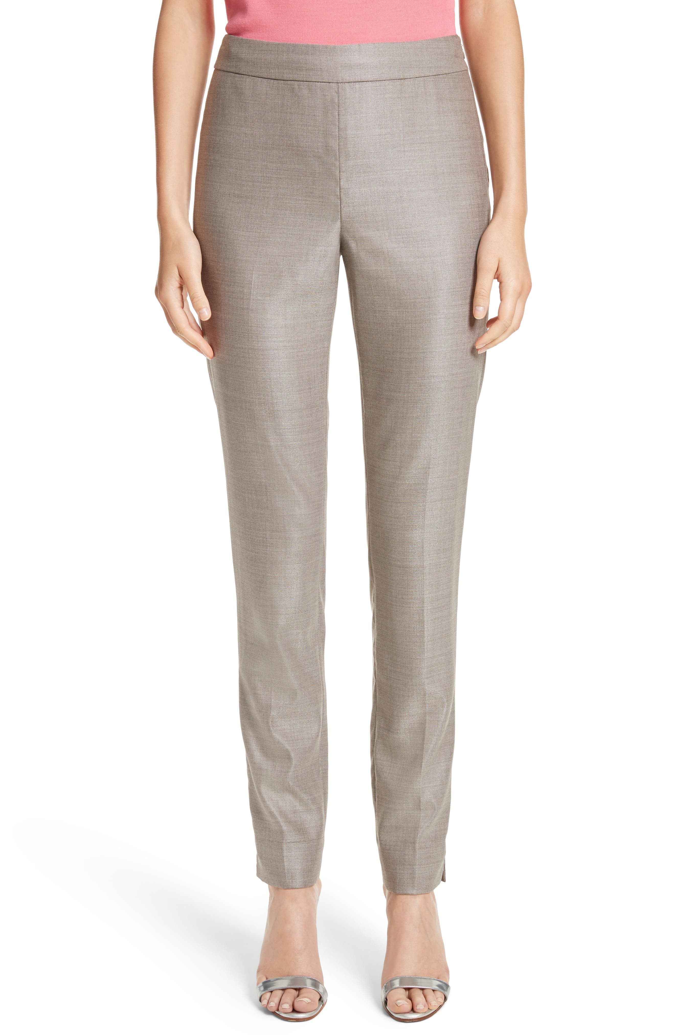 Stretch Birdseye Skinny Ankle Pants,                             Main thumbnail 1, color,                             270