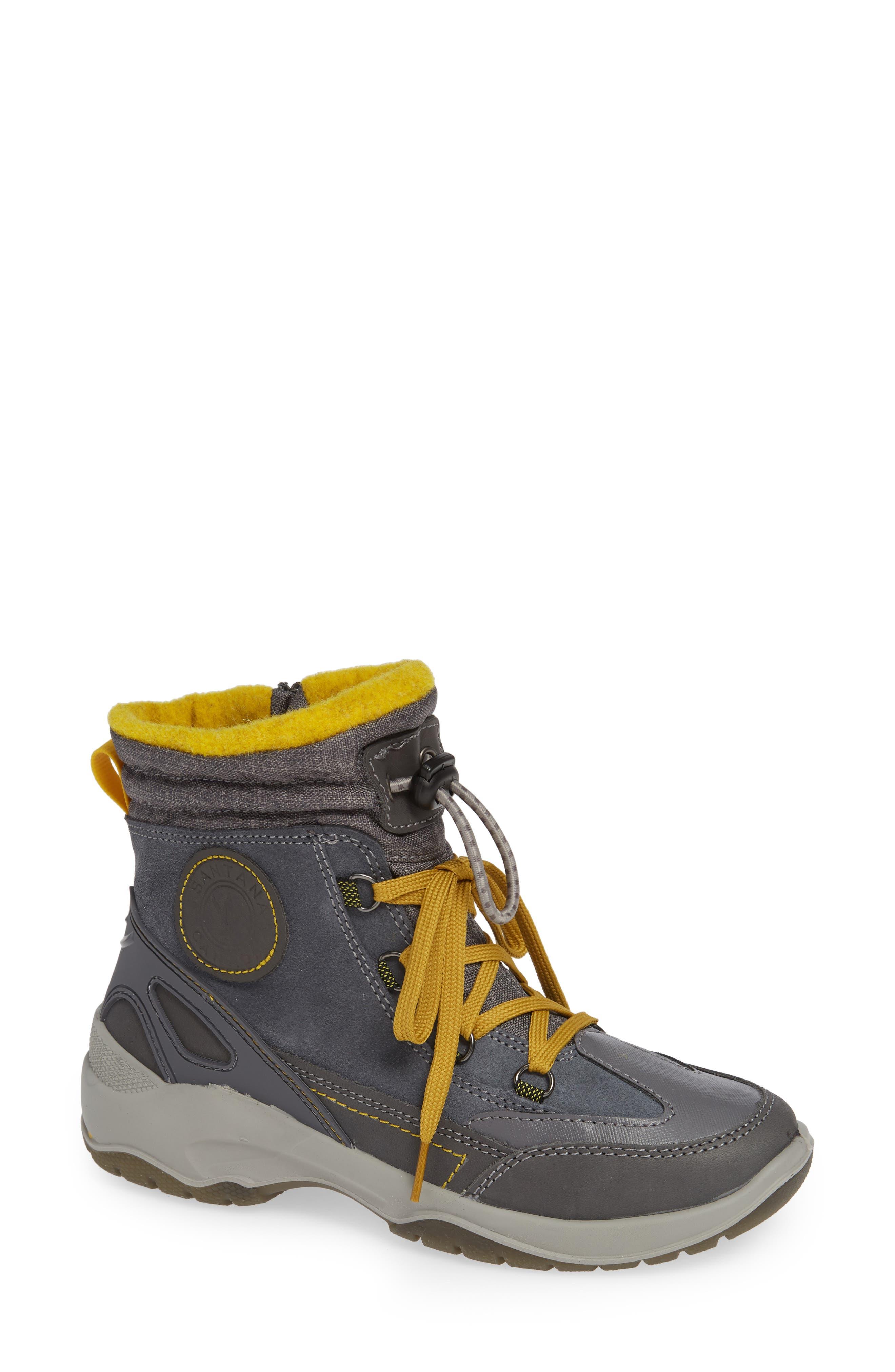 Santana Canada Torino Waterproof Insulated Lace-Up Winter Boot, Grey