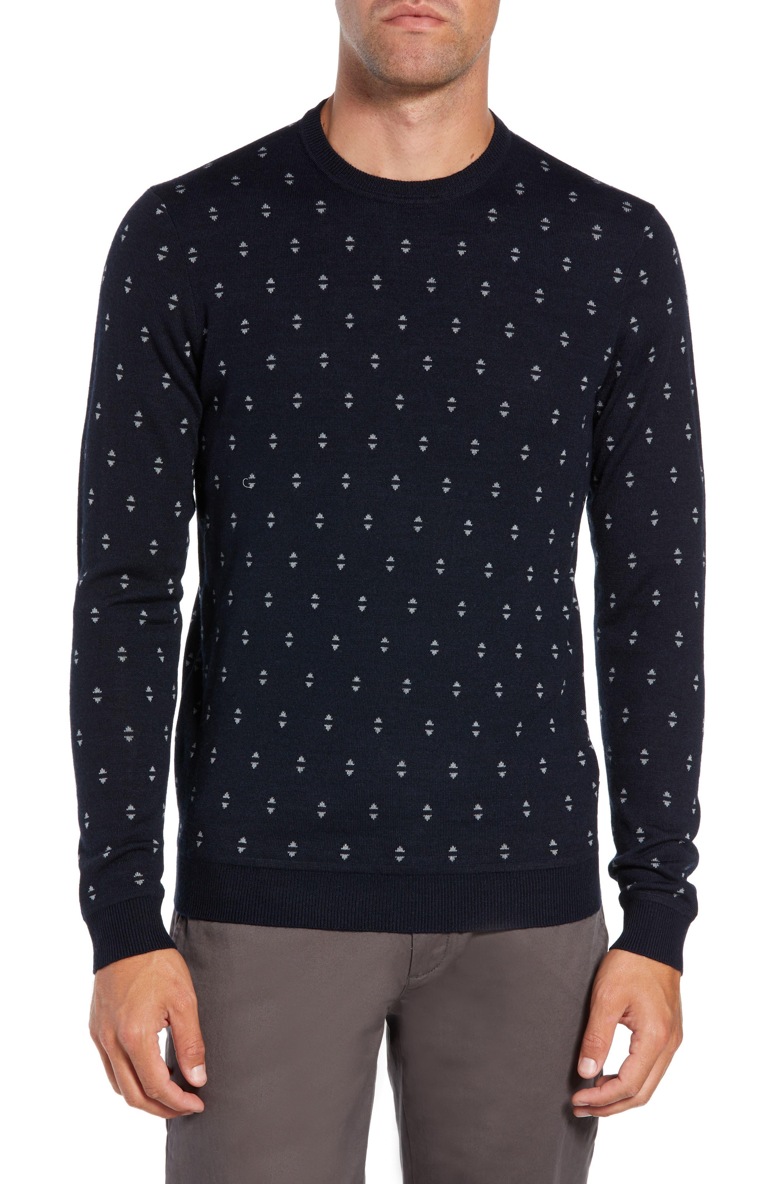Talkoo Trim Fit Crewneck Sweater,                         Main,                         color, 410