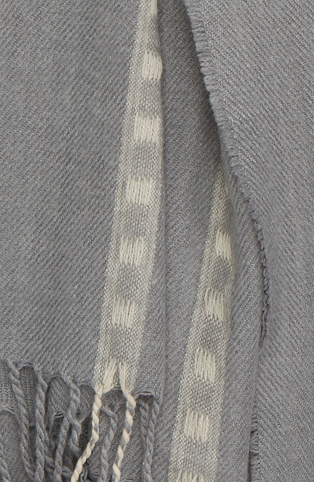Stripe Scarf,                             Alternate thumbnail 3, color,                             020