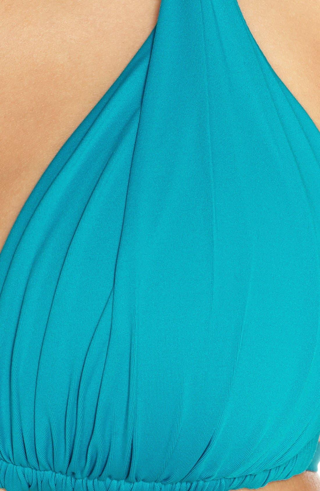 Island Blanca Halter Bikini Top,                             Alternate thumbnail 53, color,