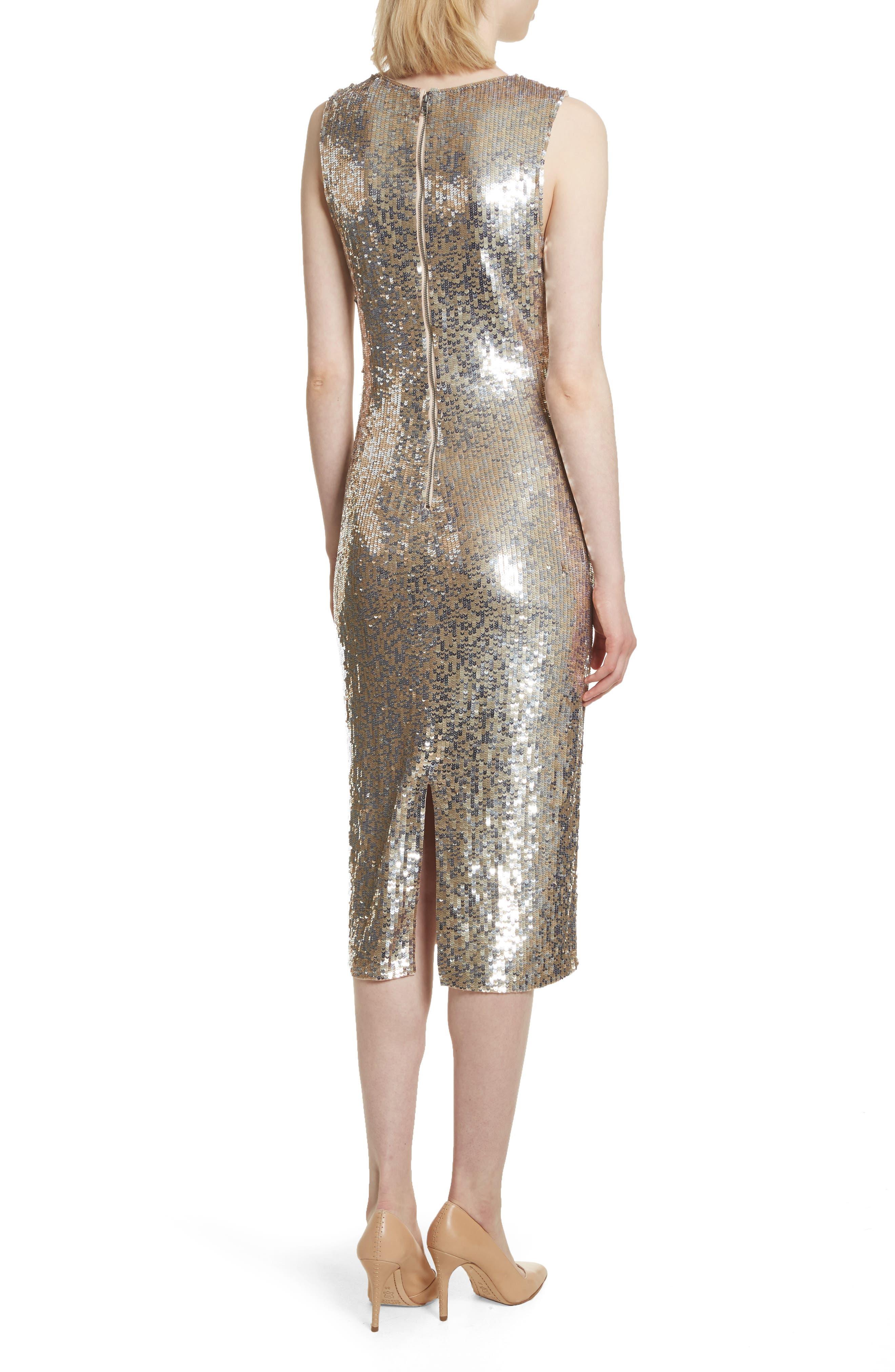 Nat Embellished Sheath Dress,                             Alternate thumbnail 2, color,                             047