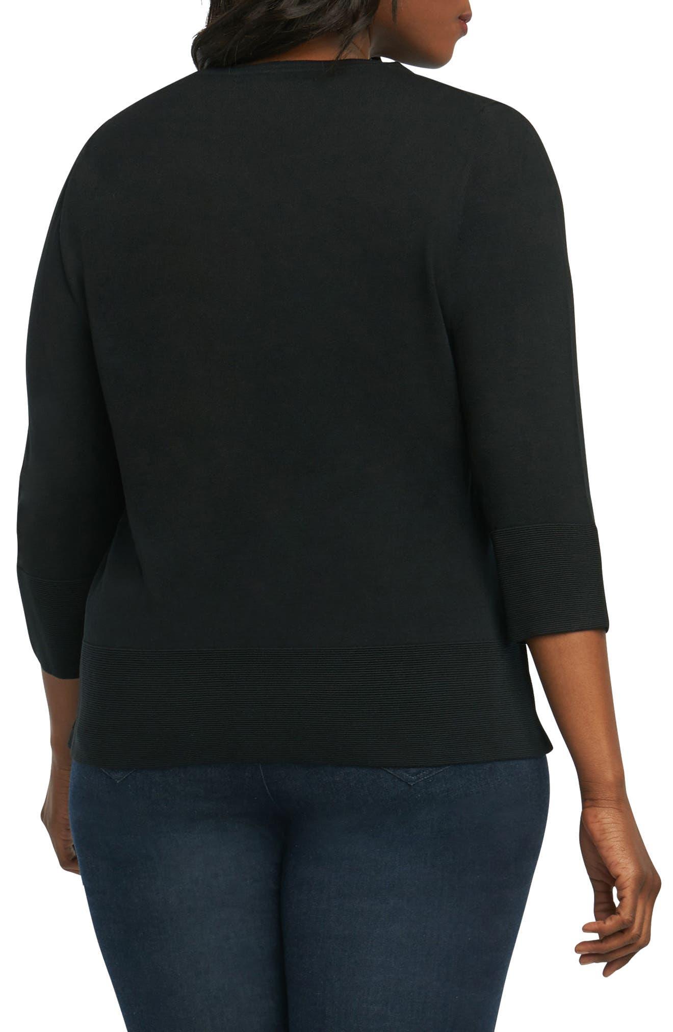 Leda Ottoman Rib Sweater,                             Alternate thumbnail 3, color,