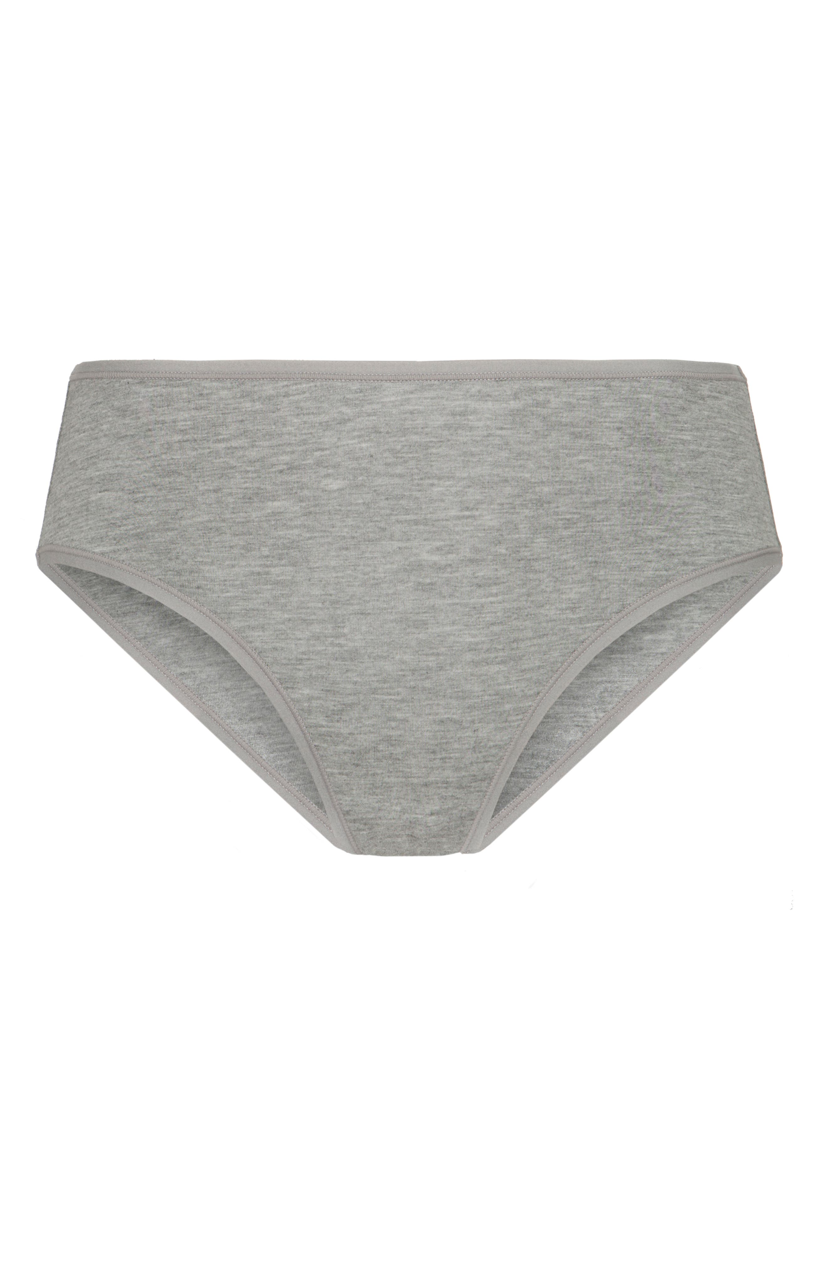 The All Day Briefs,                             Alternate thumbnail 4, color,                             HEATHER GREY