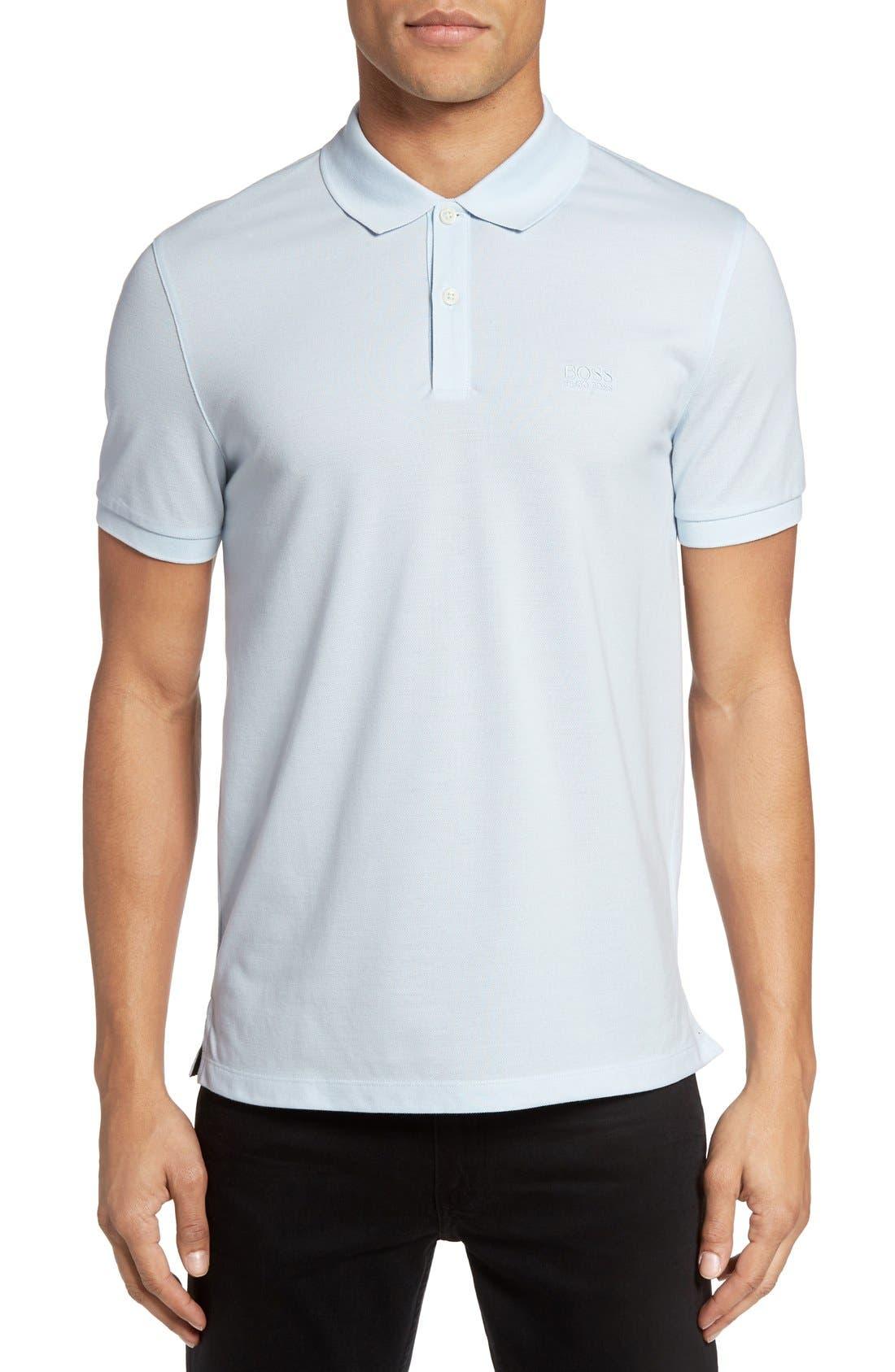 'Pallas' Regular Fit Logo Embroidered Polo Shirt,                             Main thumbnail 14, color,