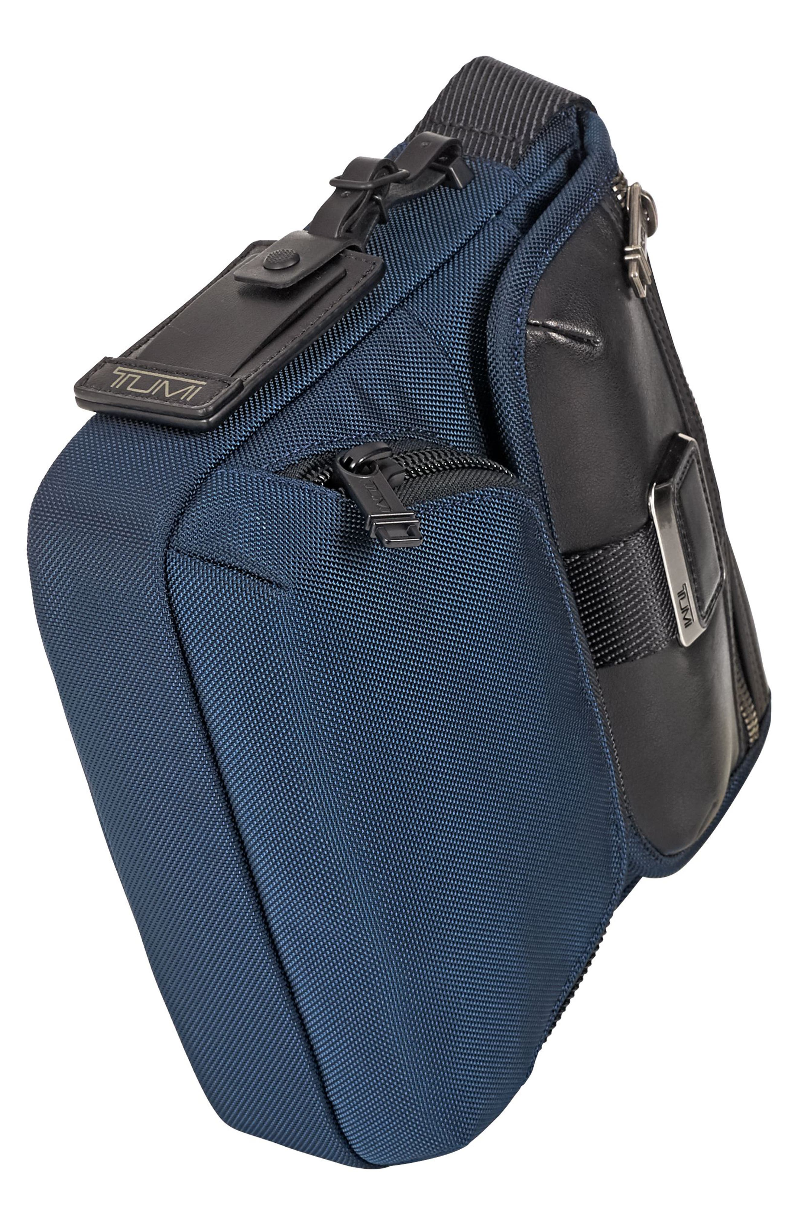 Alpha Bravo - Barton Crossbody Bag,                             Alternate thumbnail 4, color,                             NAVY