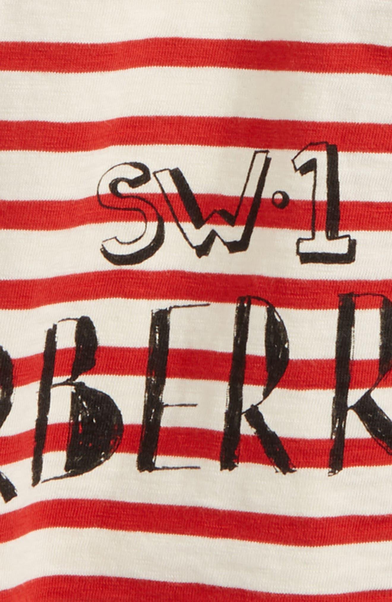 Stripe T-Shirt,                             Alternate thumbnail 4, color,