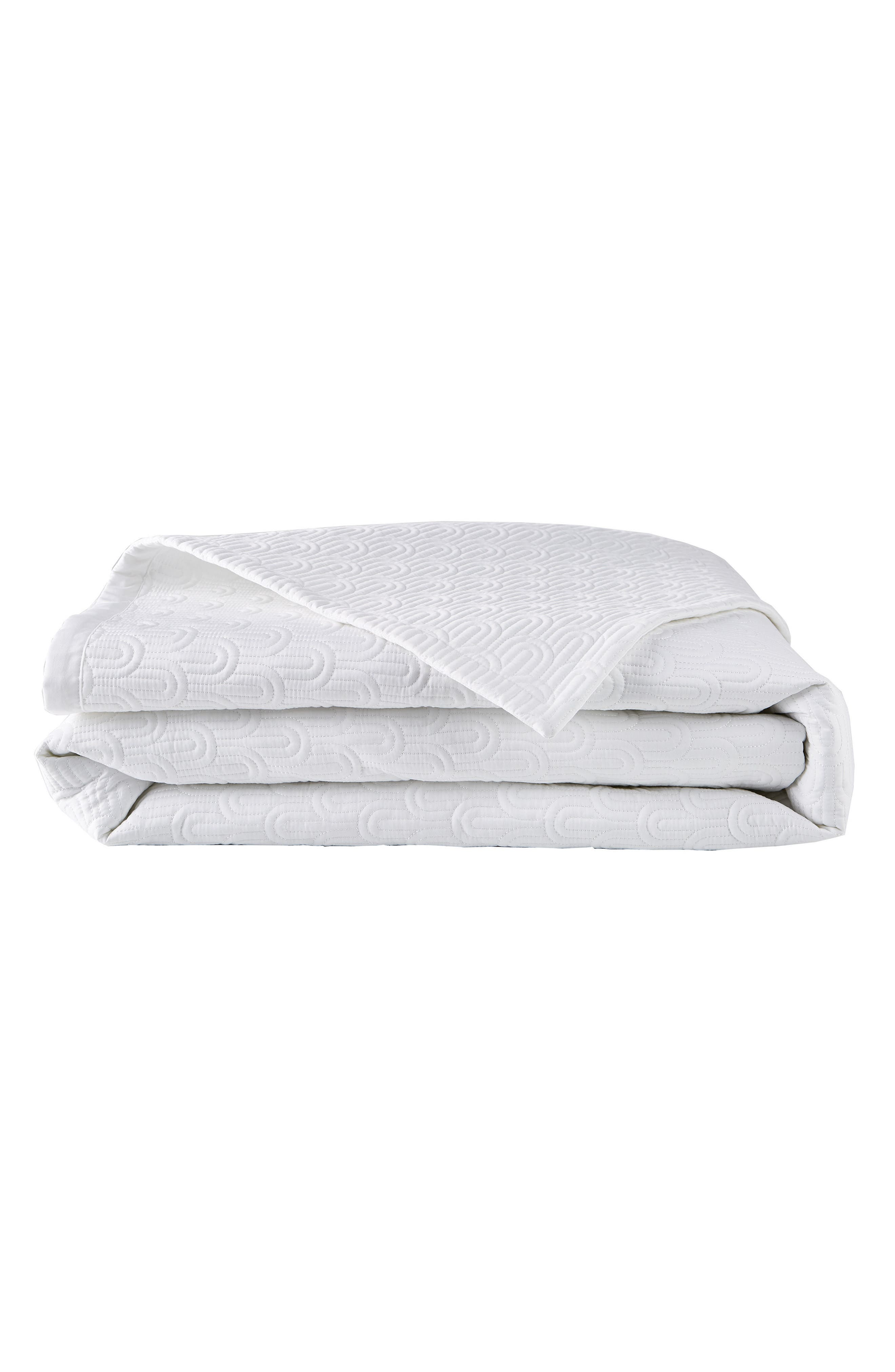 Quilted Coverlet,                             Alternate thumbnail 2, color,                             WHITE