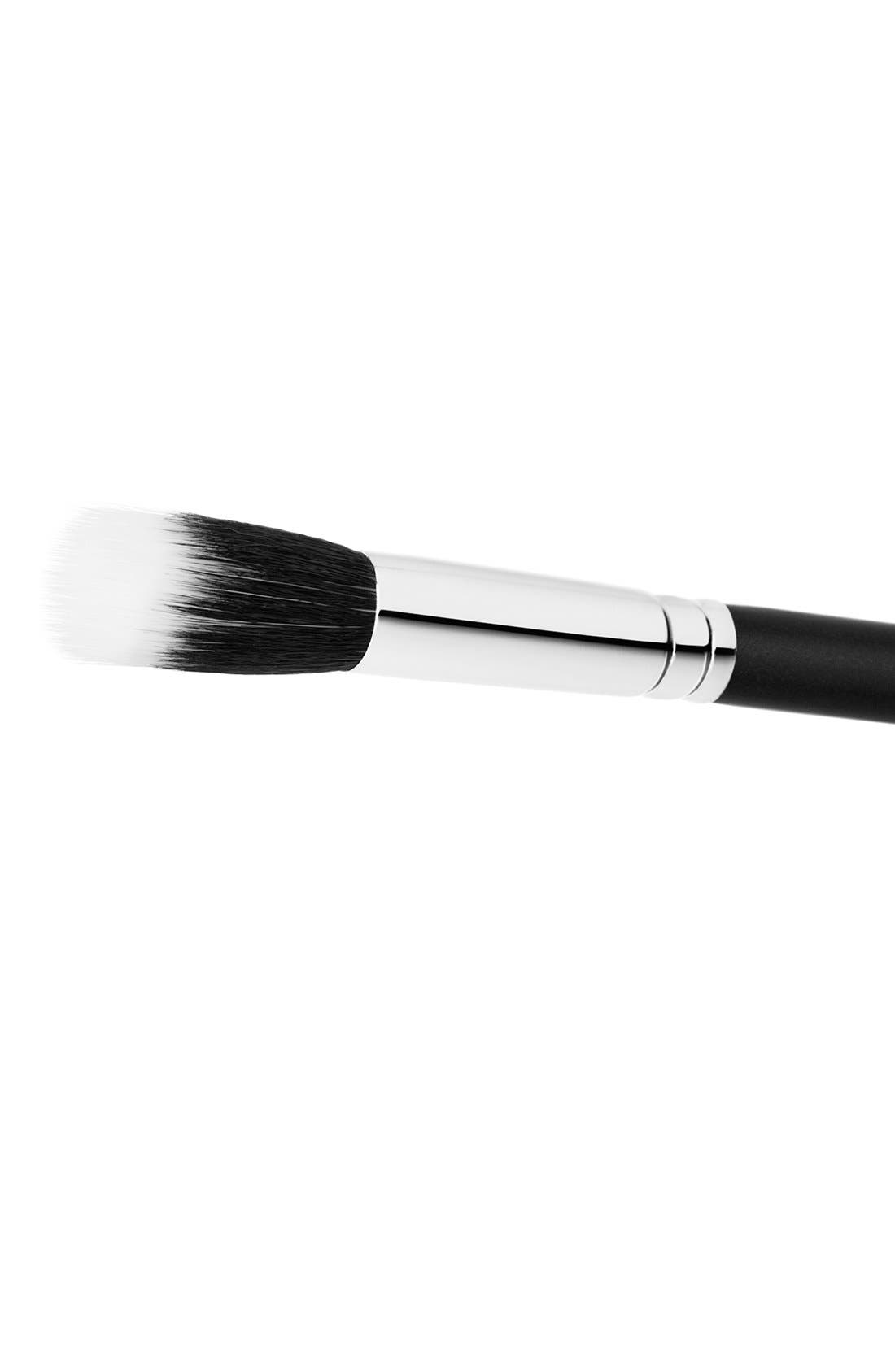 MAC 188 Small Duo Fibre Face Brush,                             Alternate thumbnail 4, color,                             000