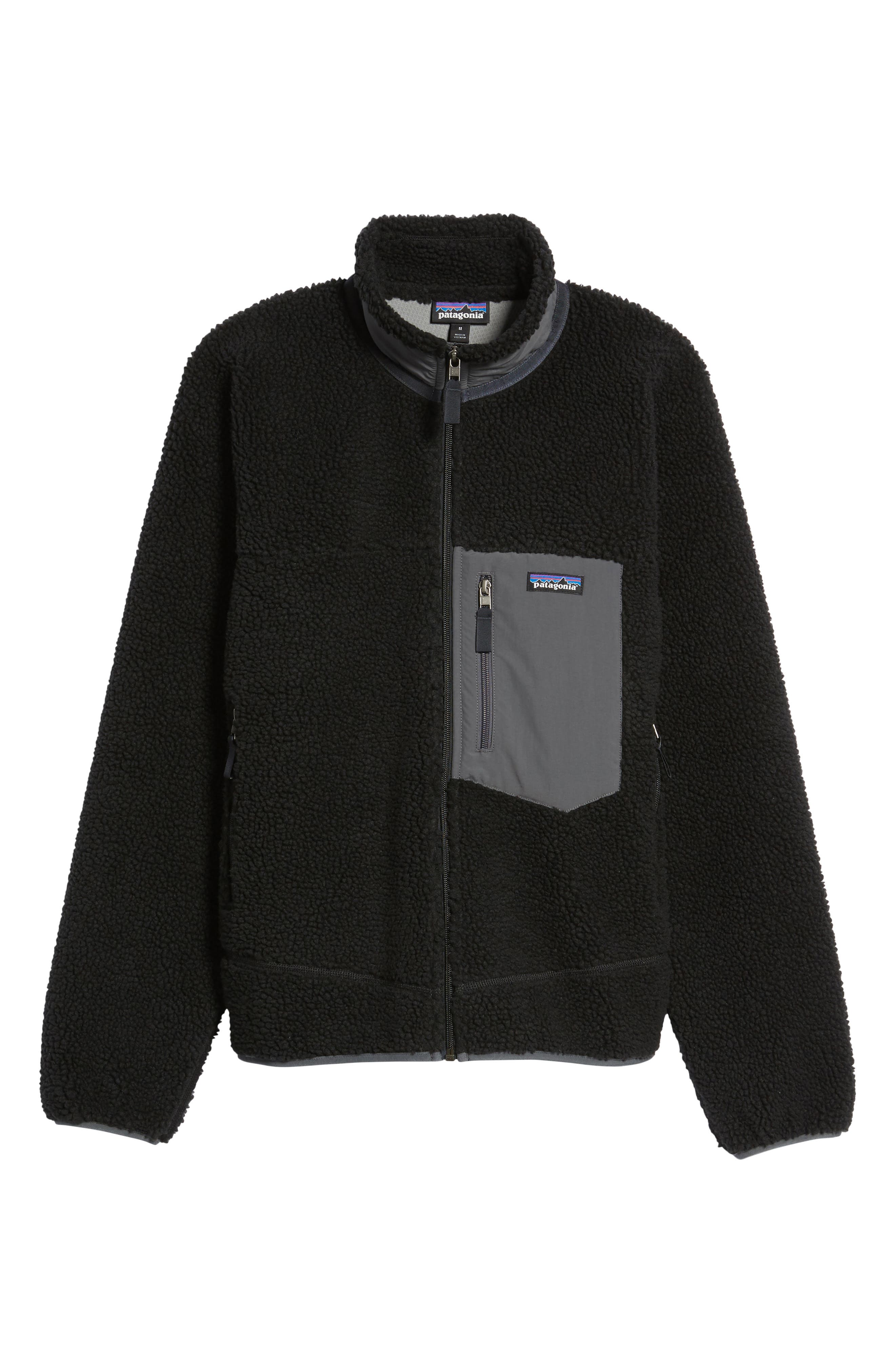 Retro-X Fleece Jacket,                             Alternate thumbnail 5, color,                             002