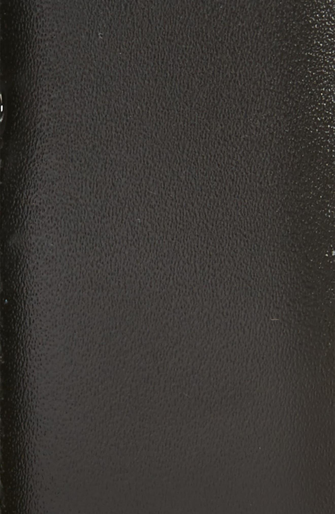 Reversible Leather Belt,                             Alternate thumbnail 3, color,                             BLACK/ AUBURN