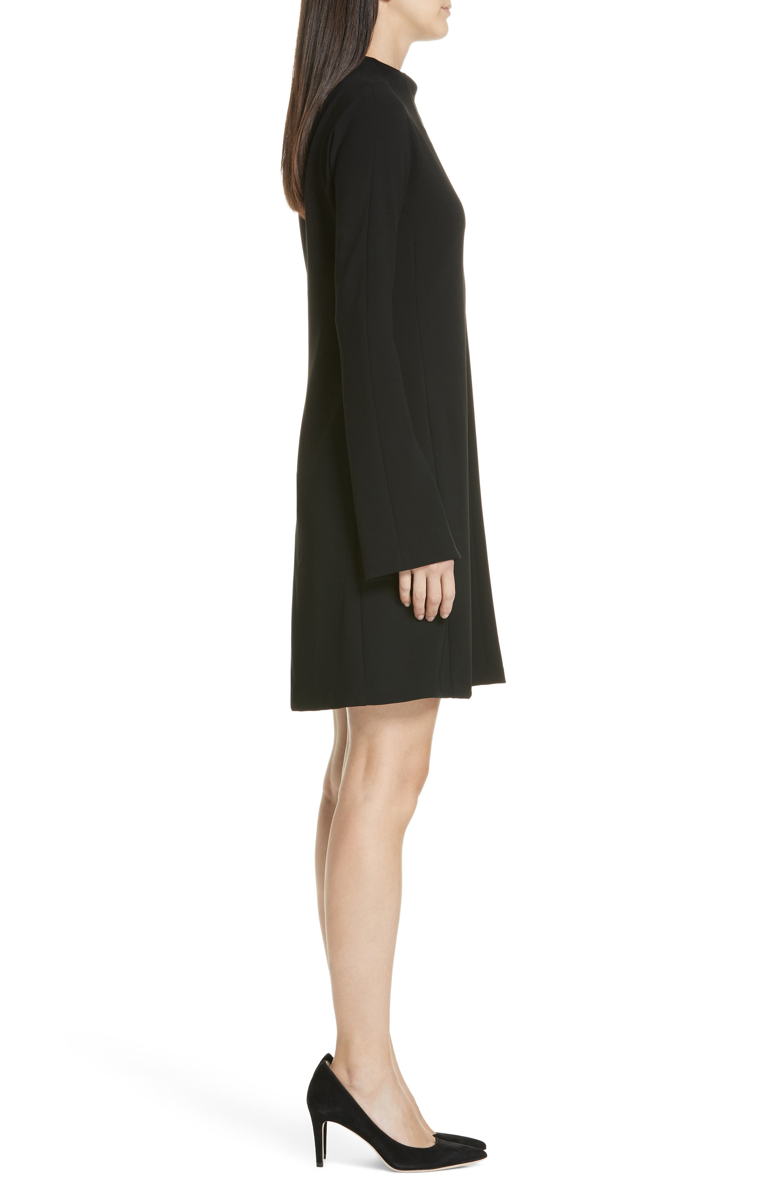 Admiral Dolman Shift Dress,                             Alternate thumbnail 3, color,                             001