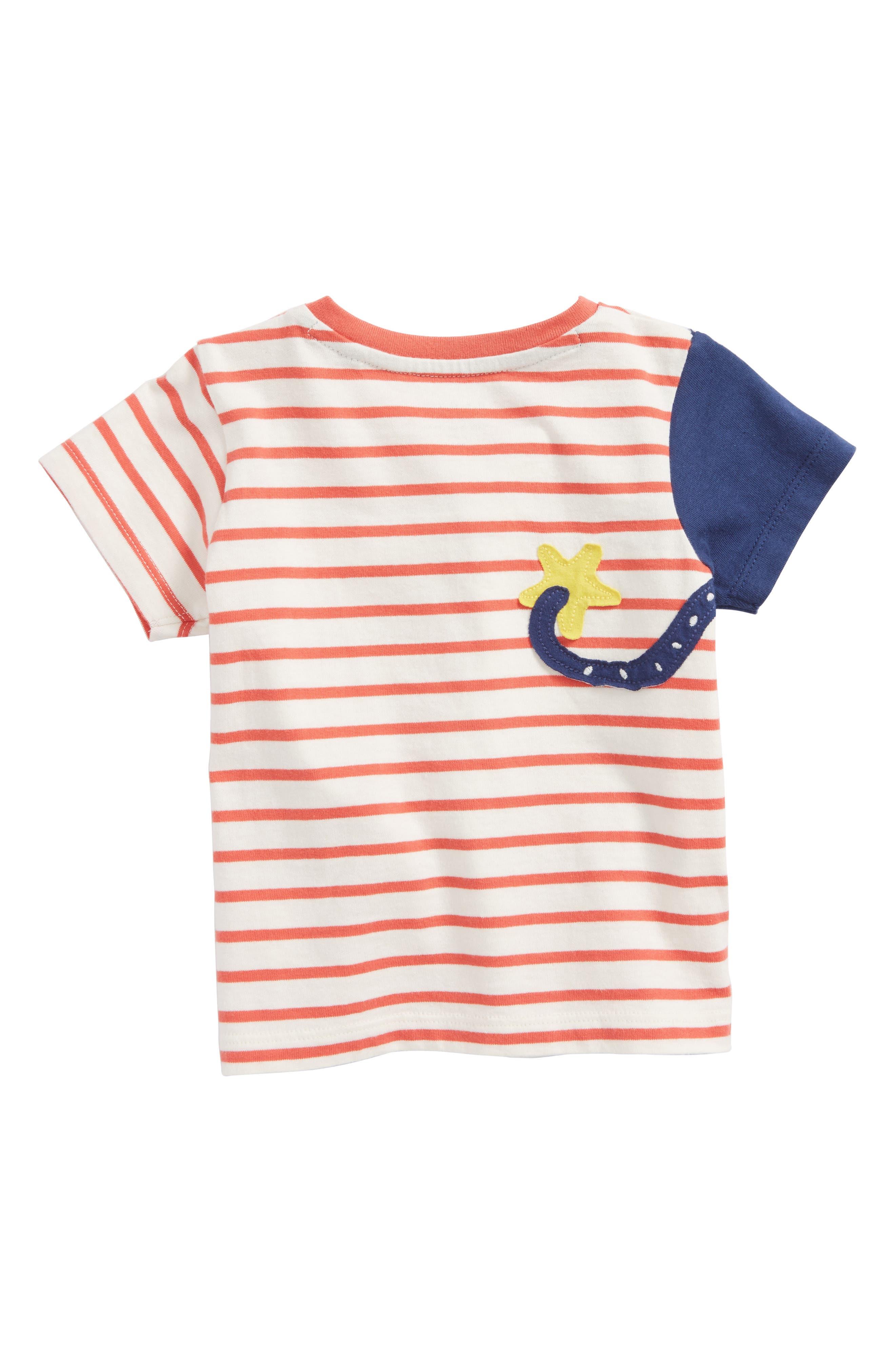 Sea Adventure Appliqué T-Shirt,                             Alternate thumbnail 2, color,                             614