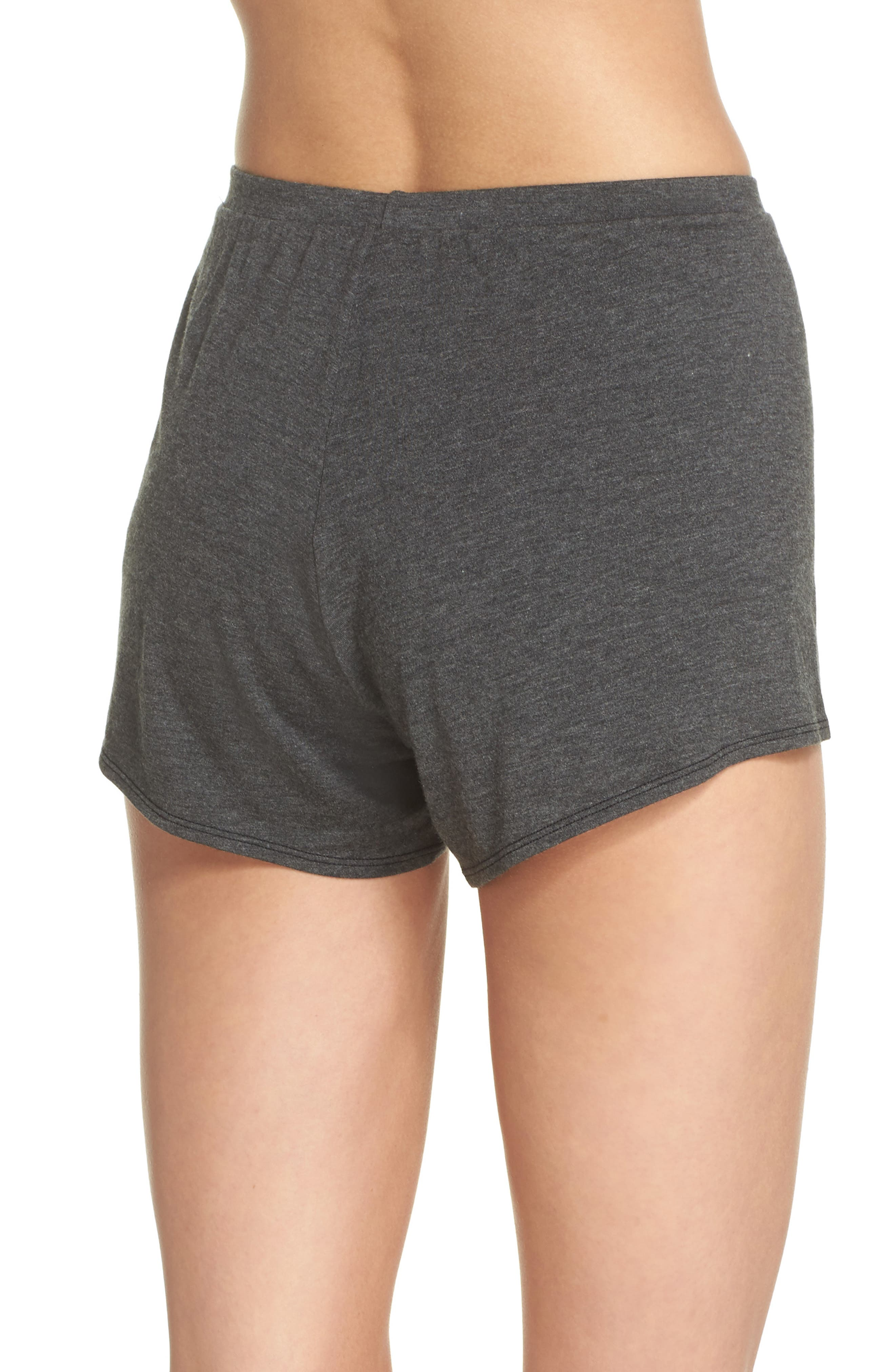 Undressed Pajama Shorts,                             Alternate thumbnail 2, color,                             001