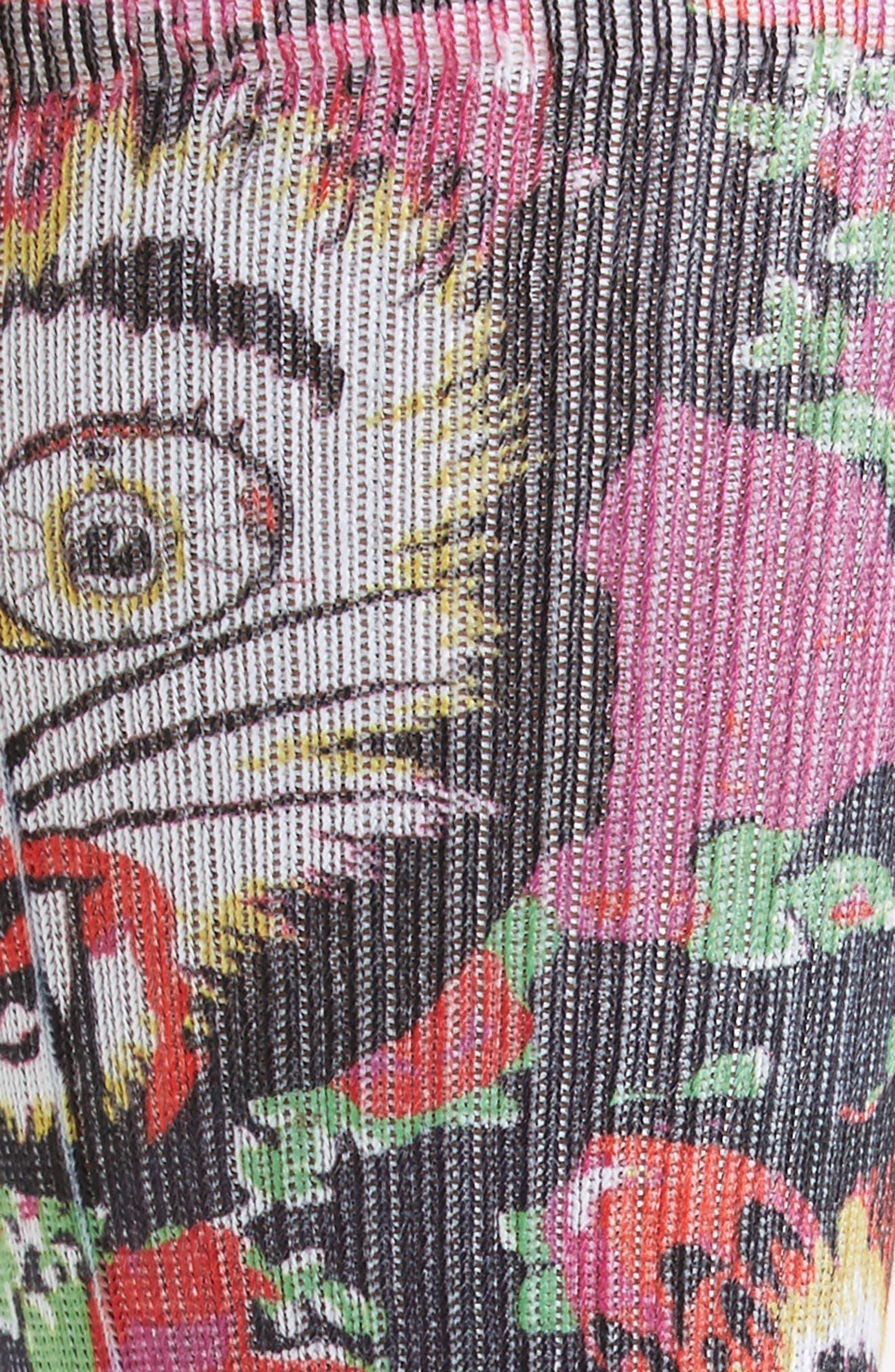 Cat Man Do Crew Socks,                             Alternate thumbnail 2, color,                             650